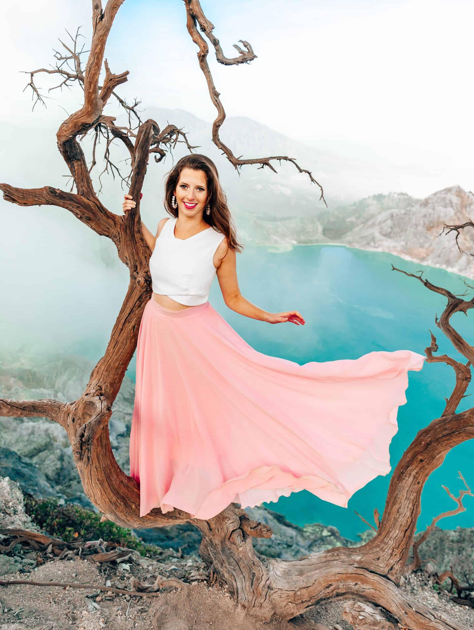 Instagrammable Tree on Mount Ijen - The Next Trip