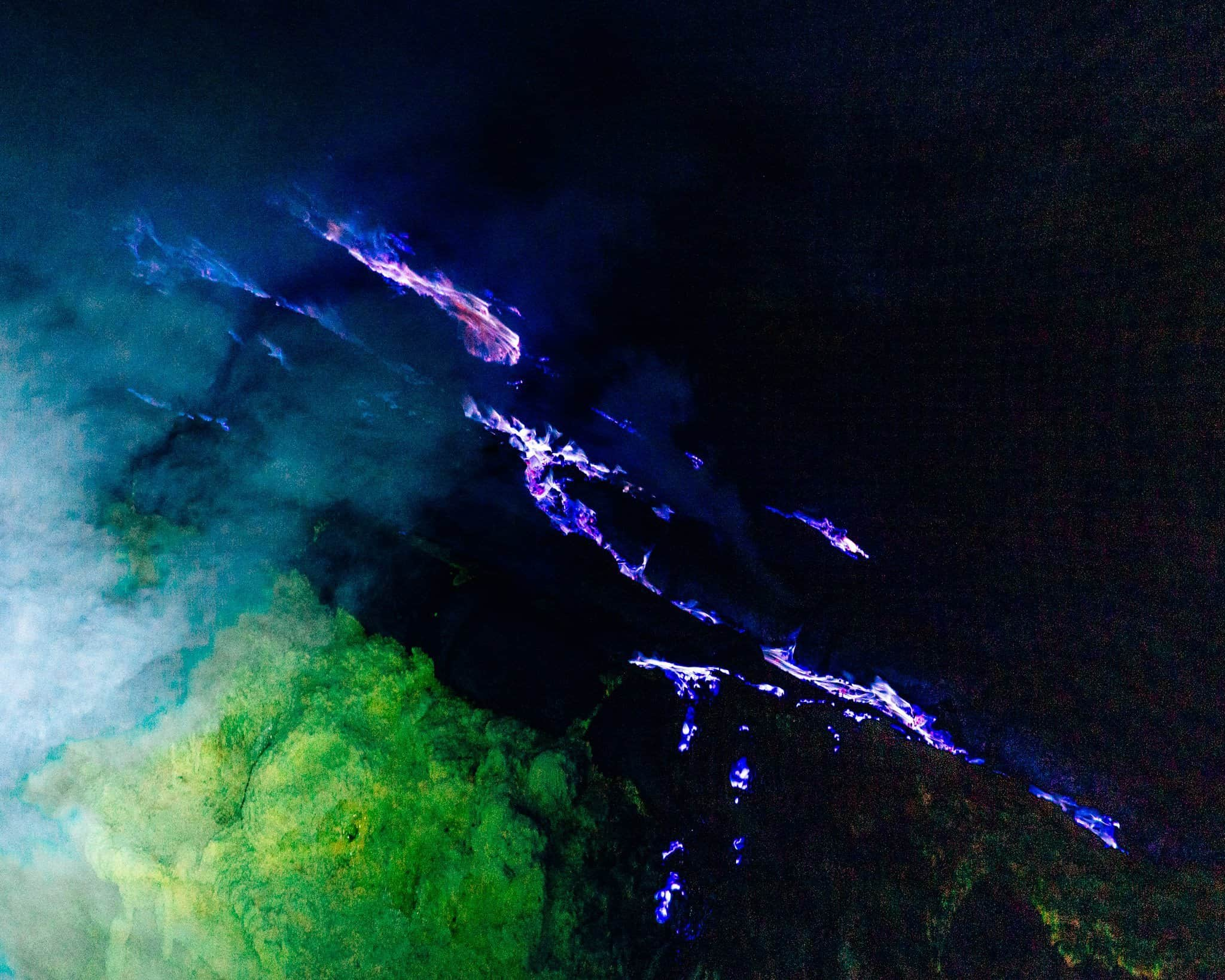 Blue Fire at Mount Ijen, East Java - The Next Trip