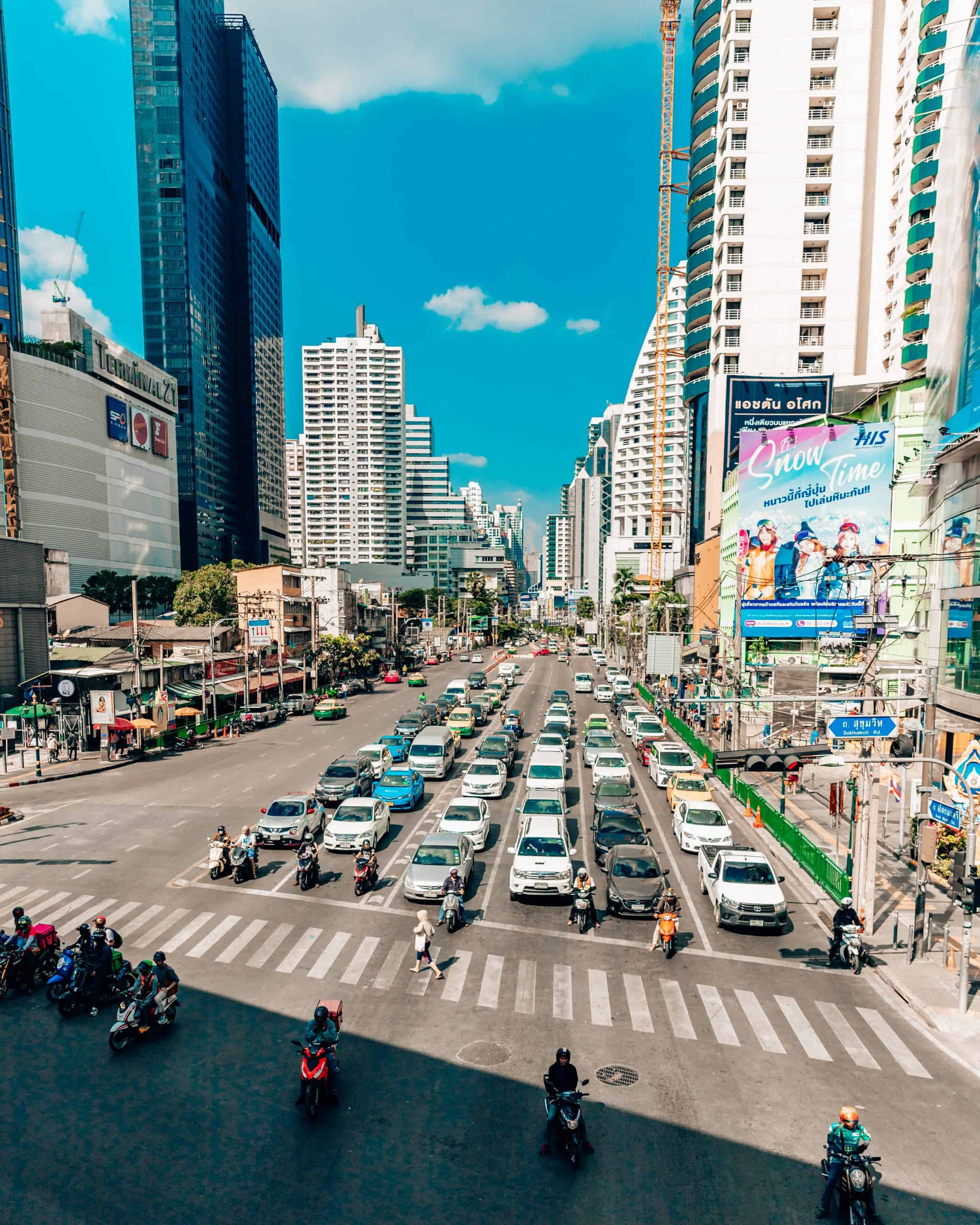 Busy Street in Bangkok - The Next Trip