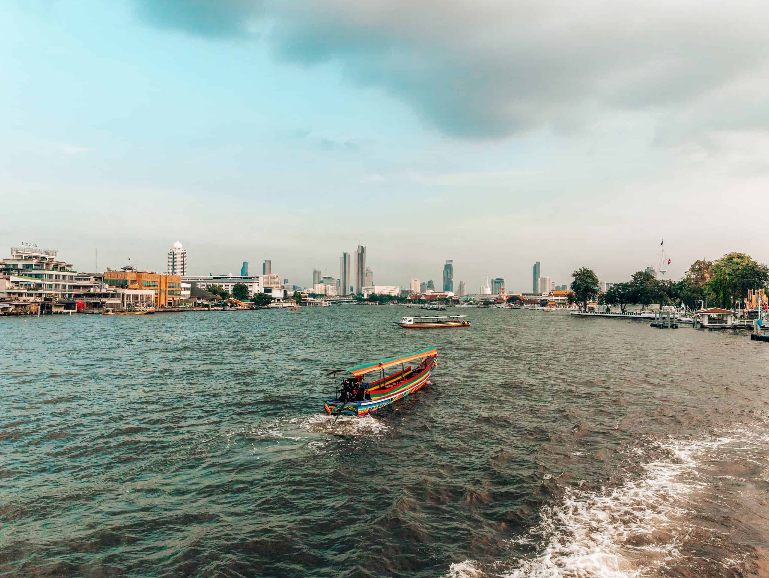 Crossing Chao Phraya River on a Ferry - The Next Trip