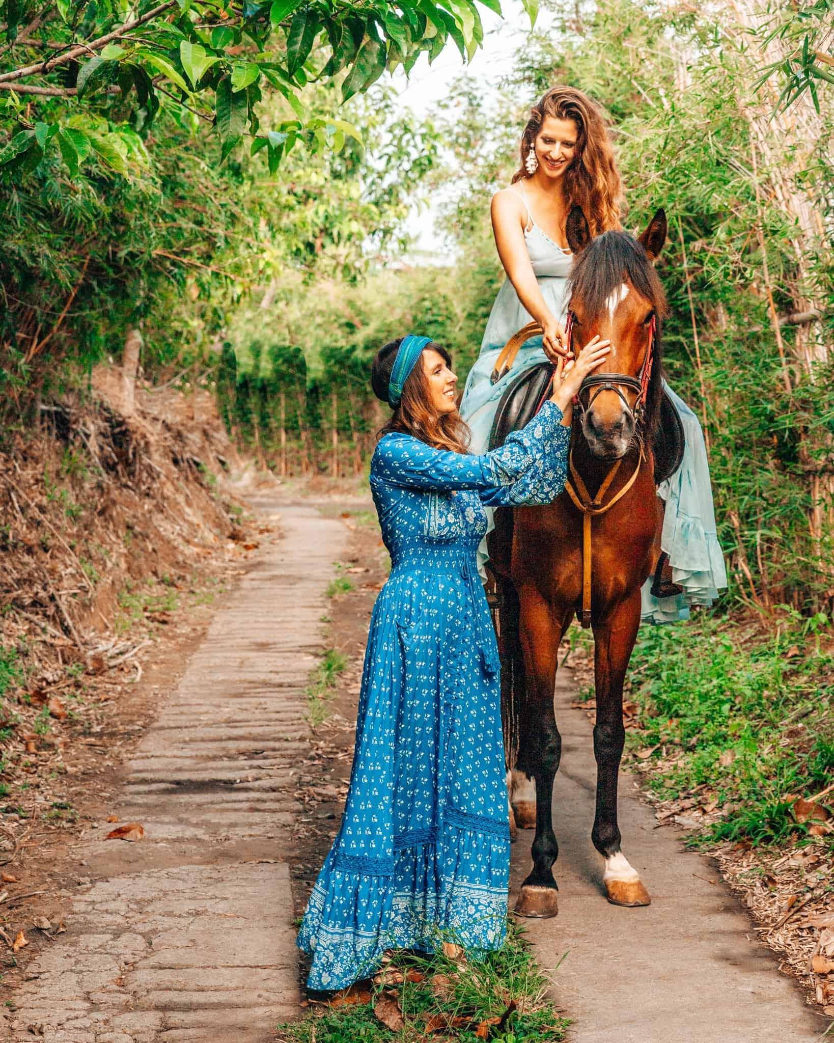 Horse Back Riding at Munduk Moding Plantation Bali - The Next Trip