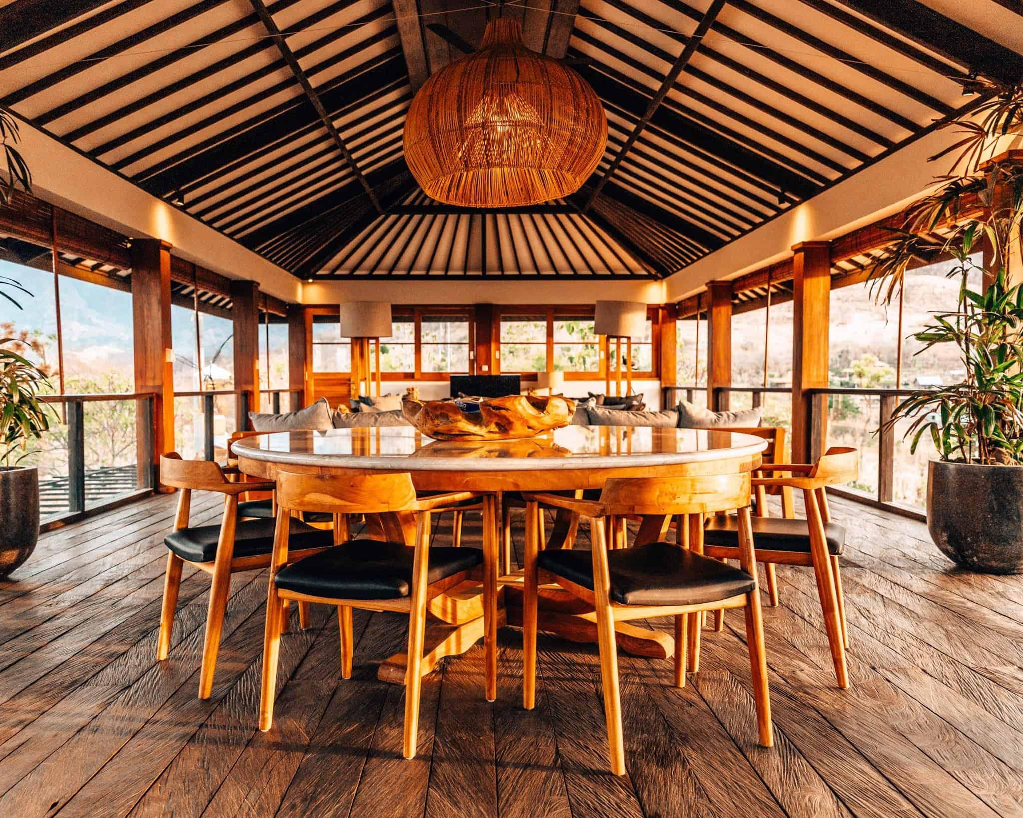 Living Room at Sumberkima Hill Bali Villa - The Next Trip