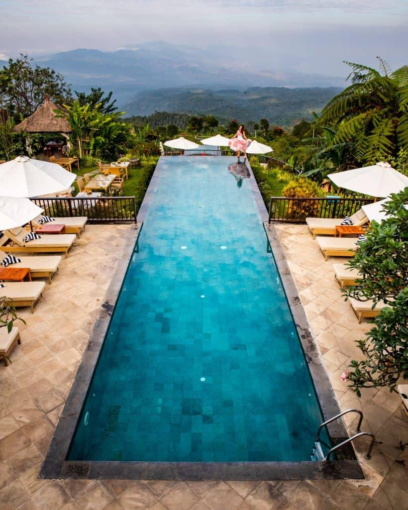 Munduk Infinity Pool Bali