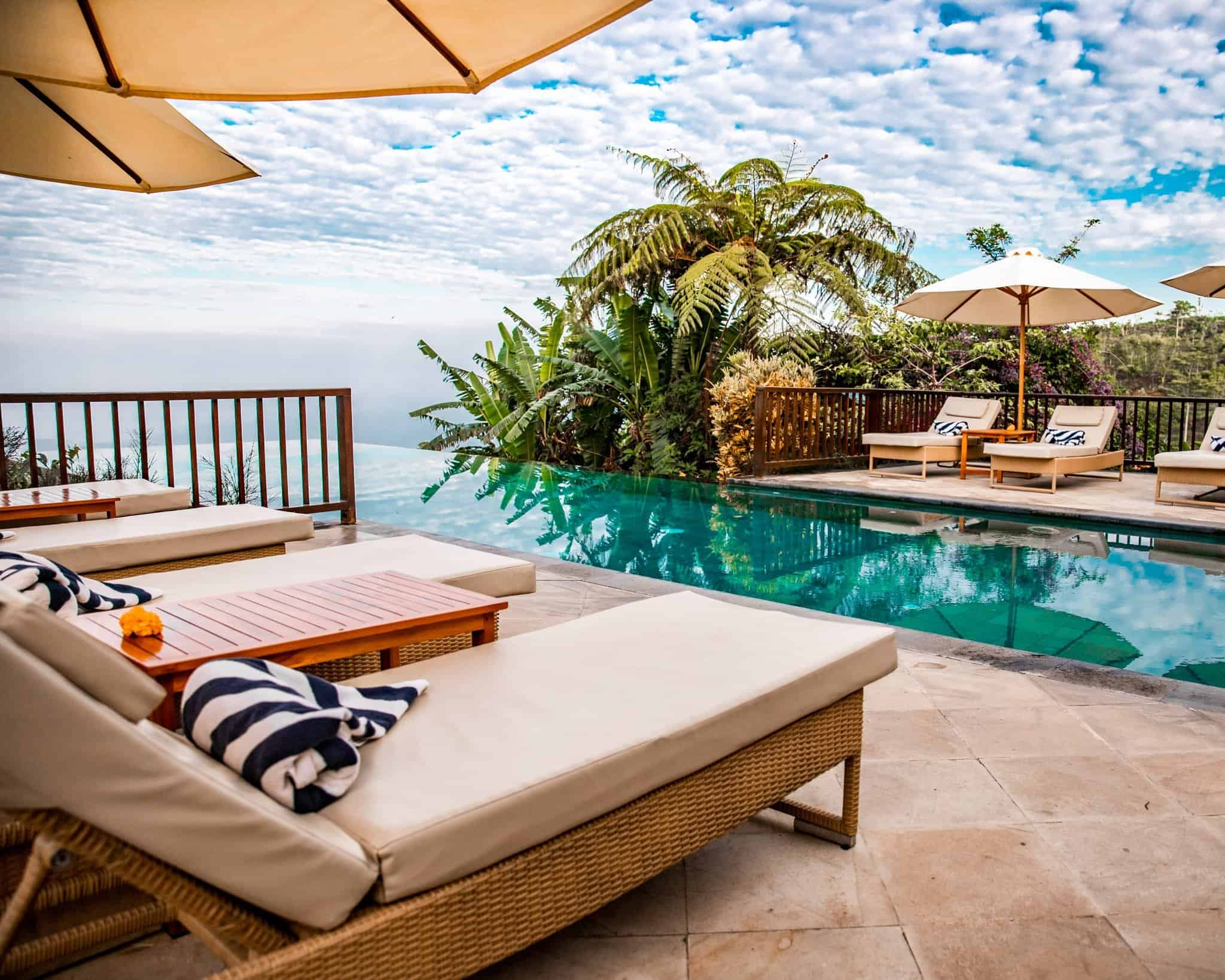 Pool Area at Munduk Moding Plantation Bali - The Next Trip
