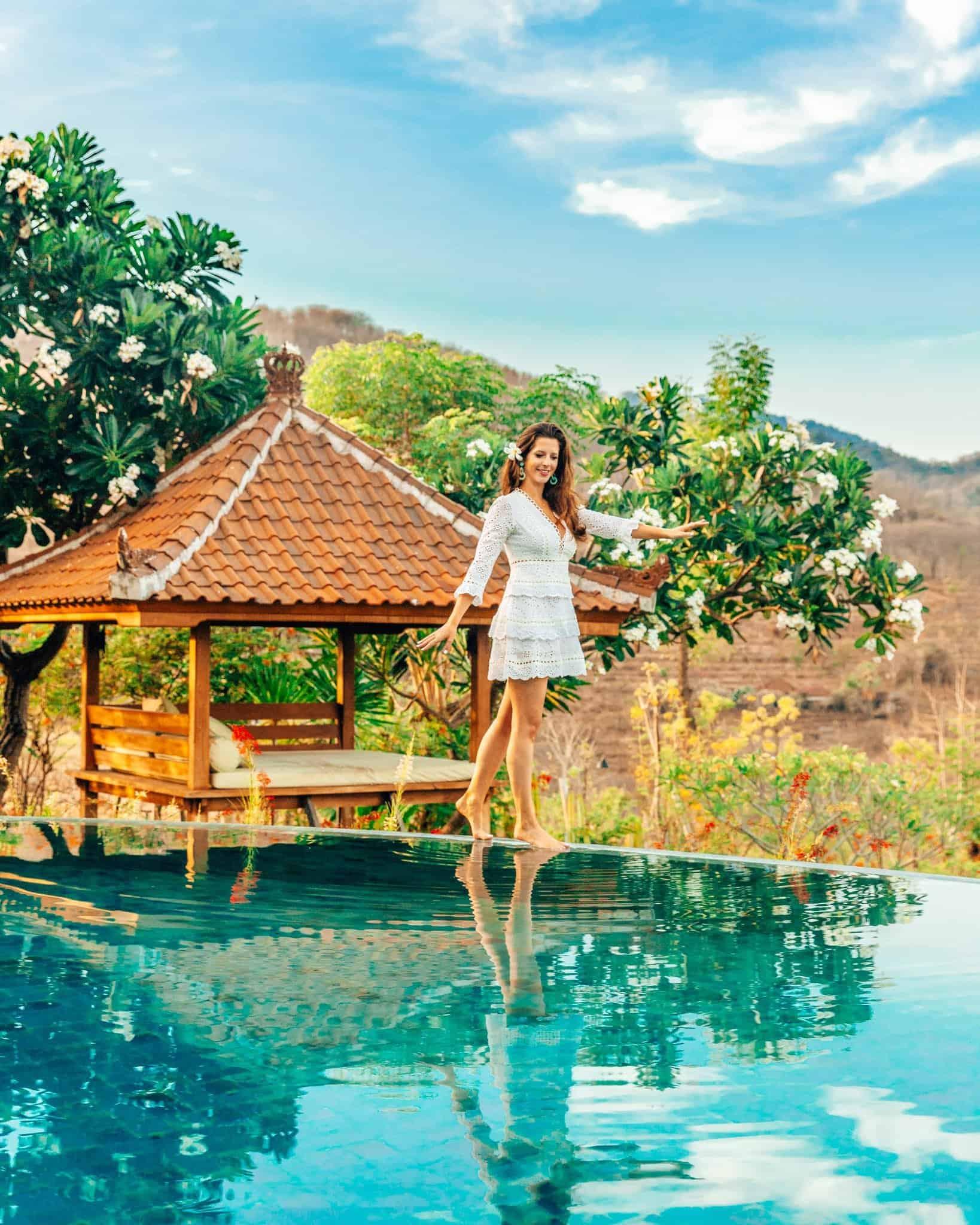 Pool View at Sumberkima Hill, Bali - The Next Trip