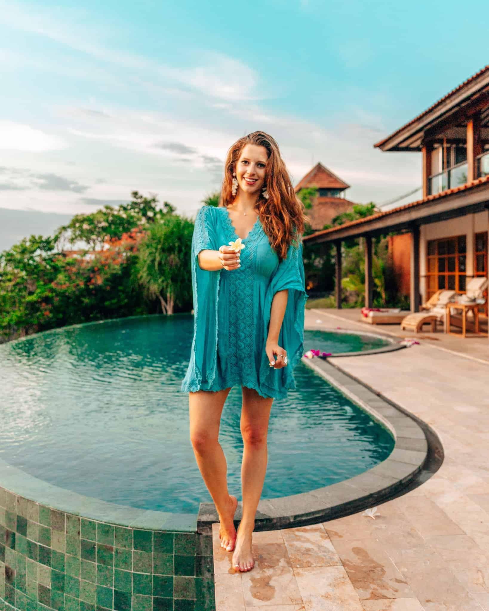 Pool and Bali Villa at Sumberkima Hill, Bali - The Next Trip