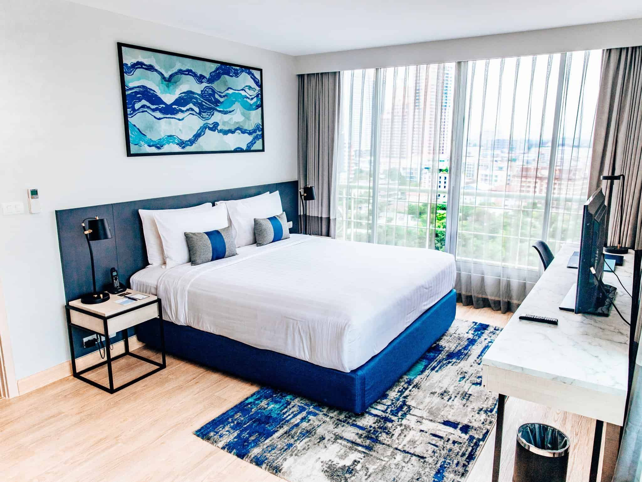 Hotel Room at Shama Asoke Lakeview Bangkok