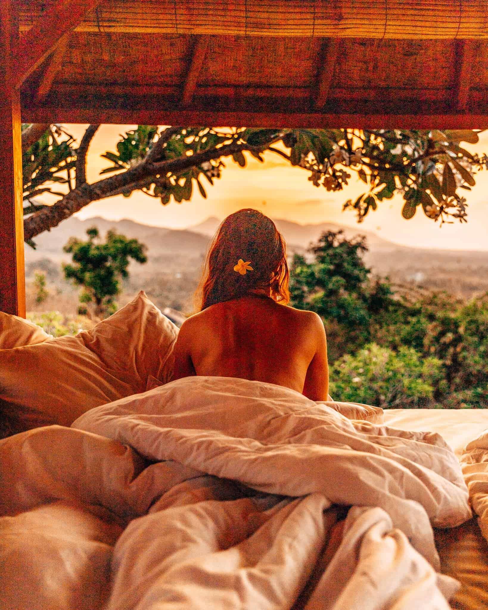 Sunset View at Sumberkima Hill, Bali - The Next Trip