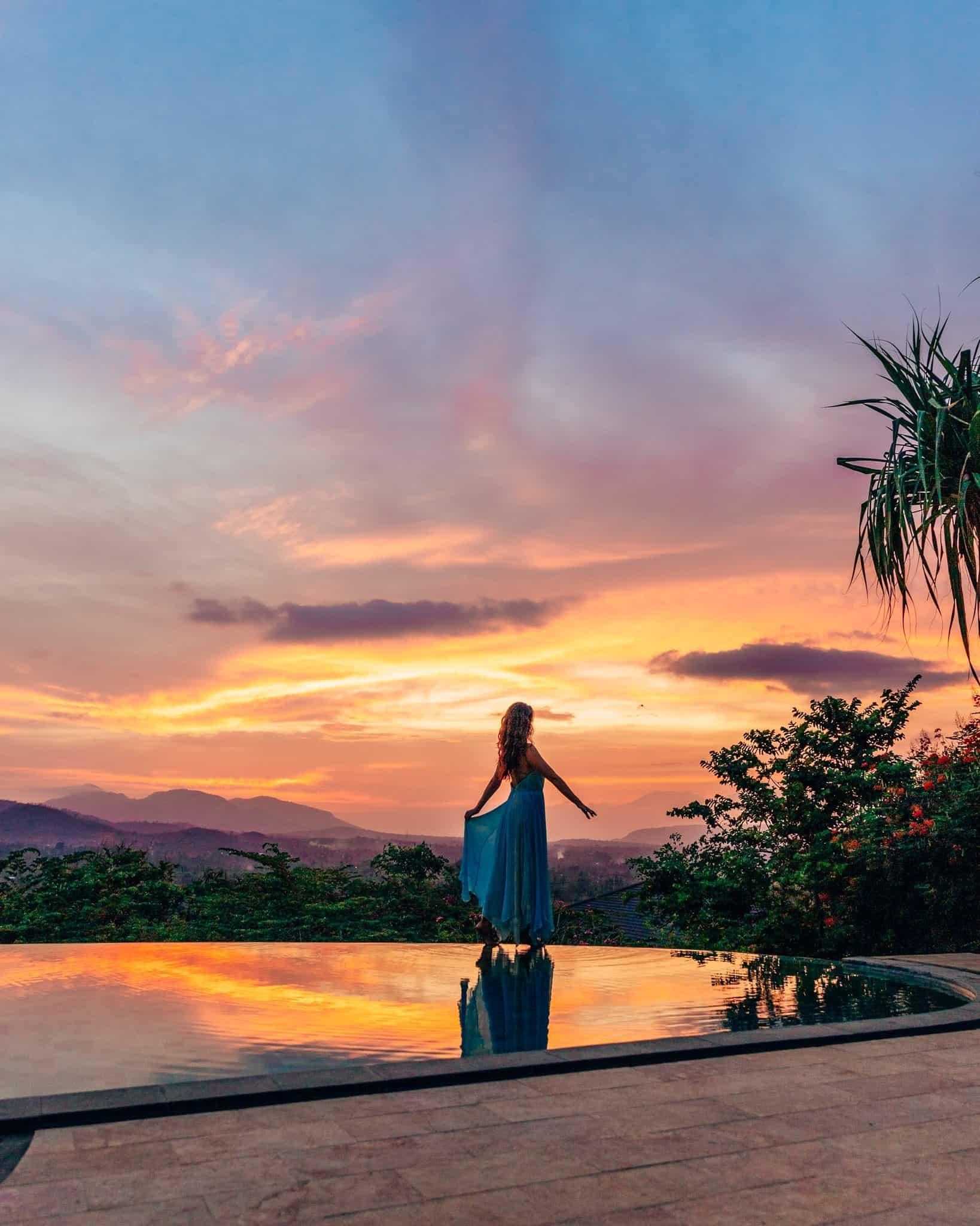 Sunset at Sumberkima Hill, Bali - The Next Trip
