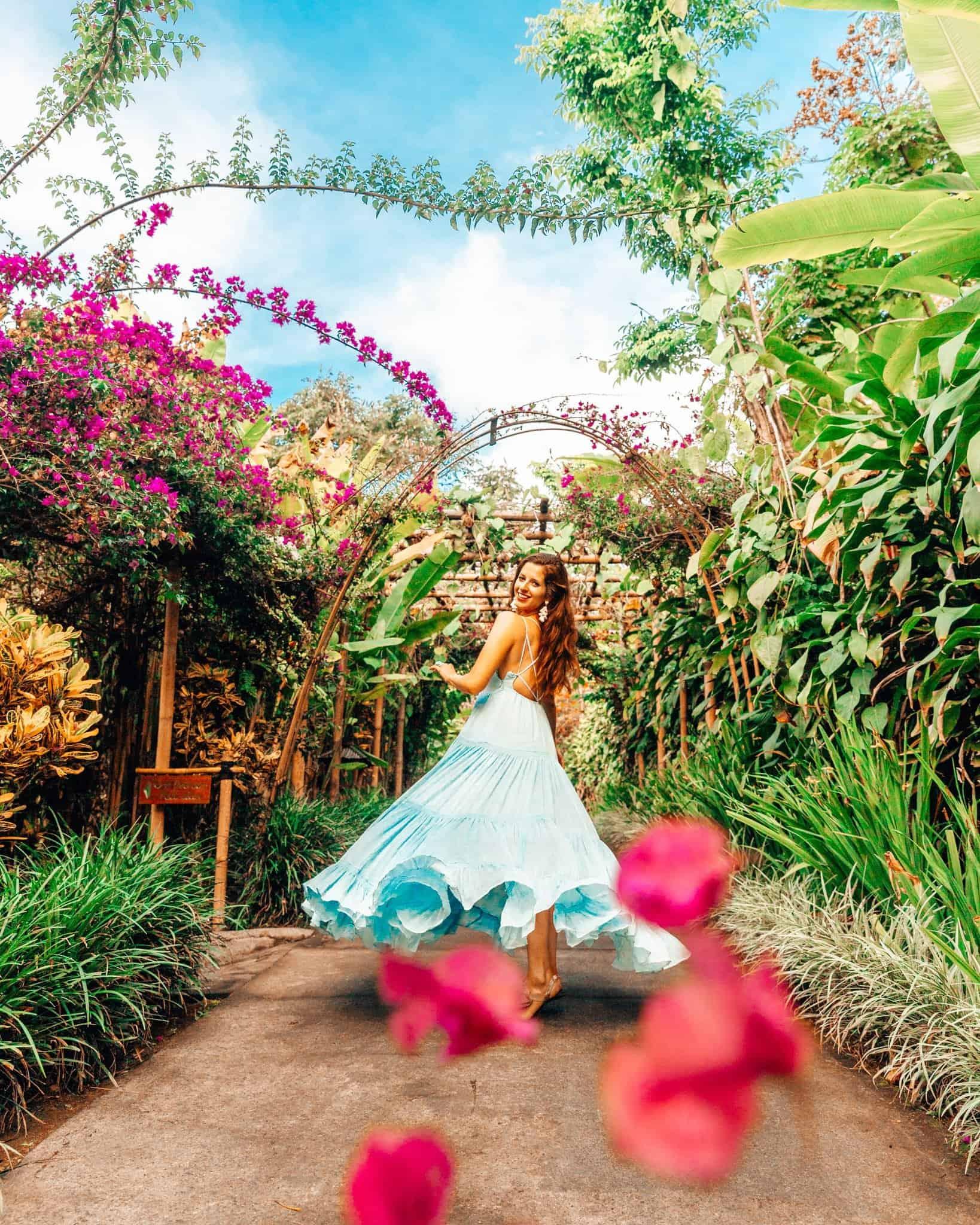 Bettina at Munduk Moding Plantation in Bali - The Next Trip