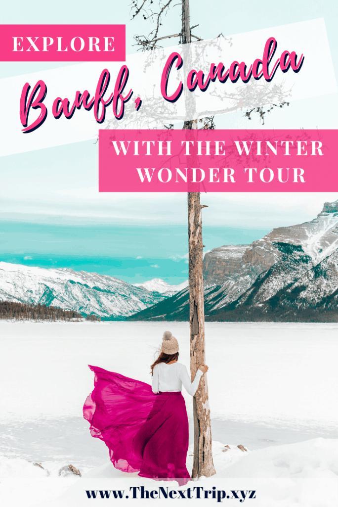 Explore Banff National Park with Winter Wonder Tour 14