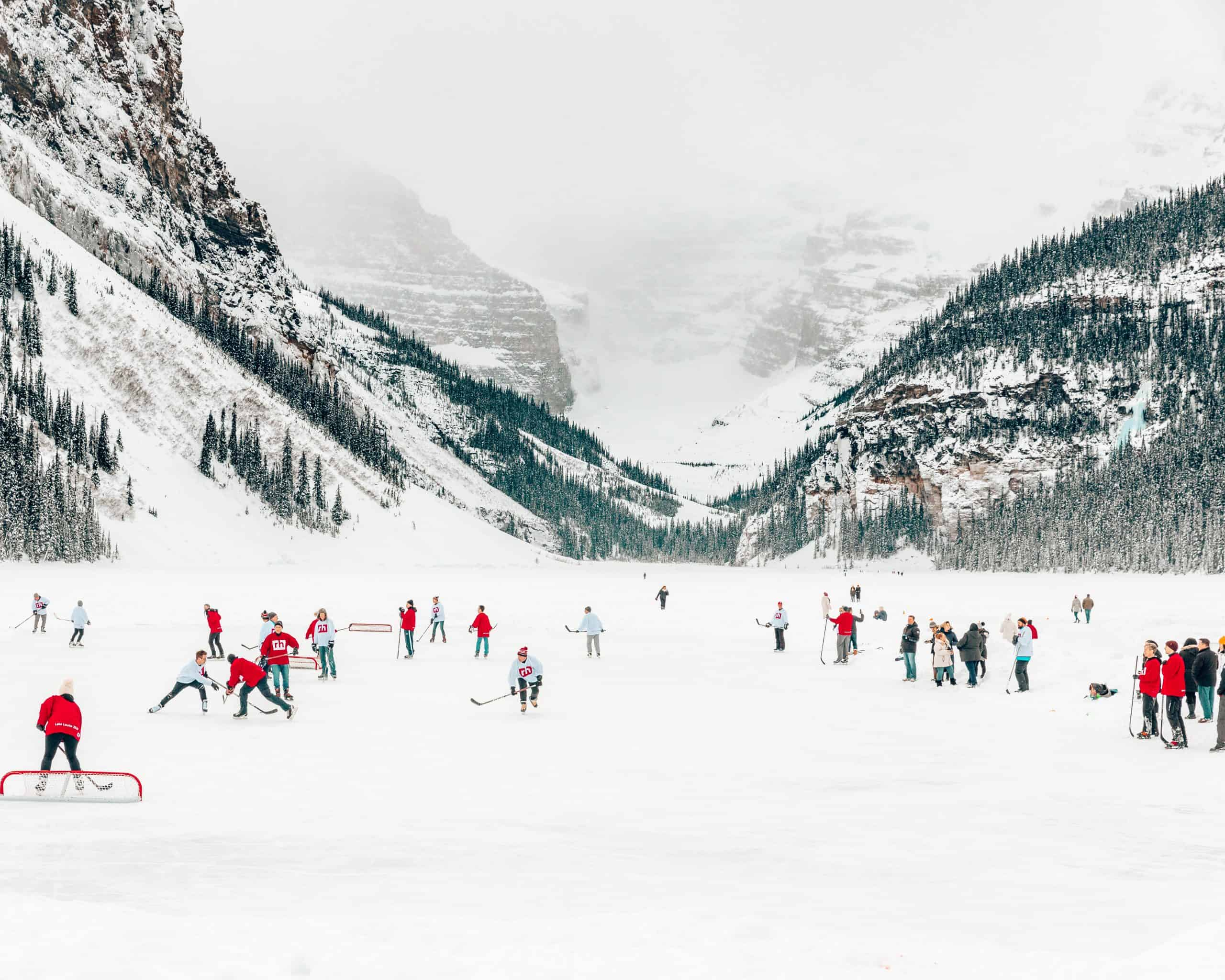 Ice Hockey Game at Lake Louise - The Next Trip