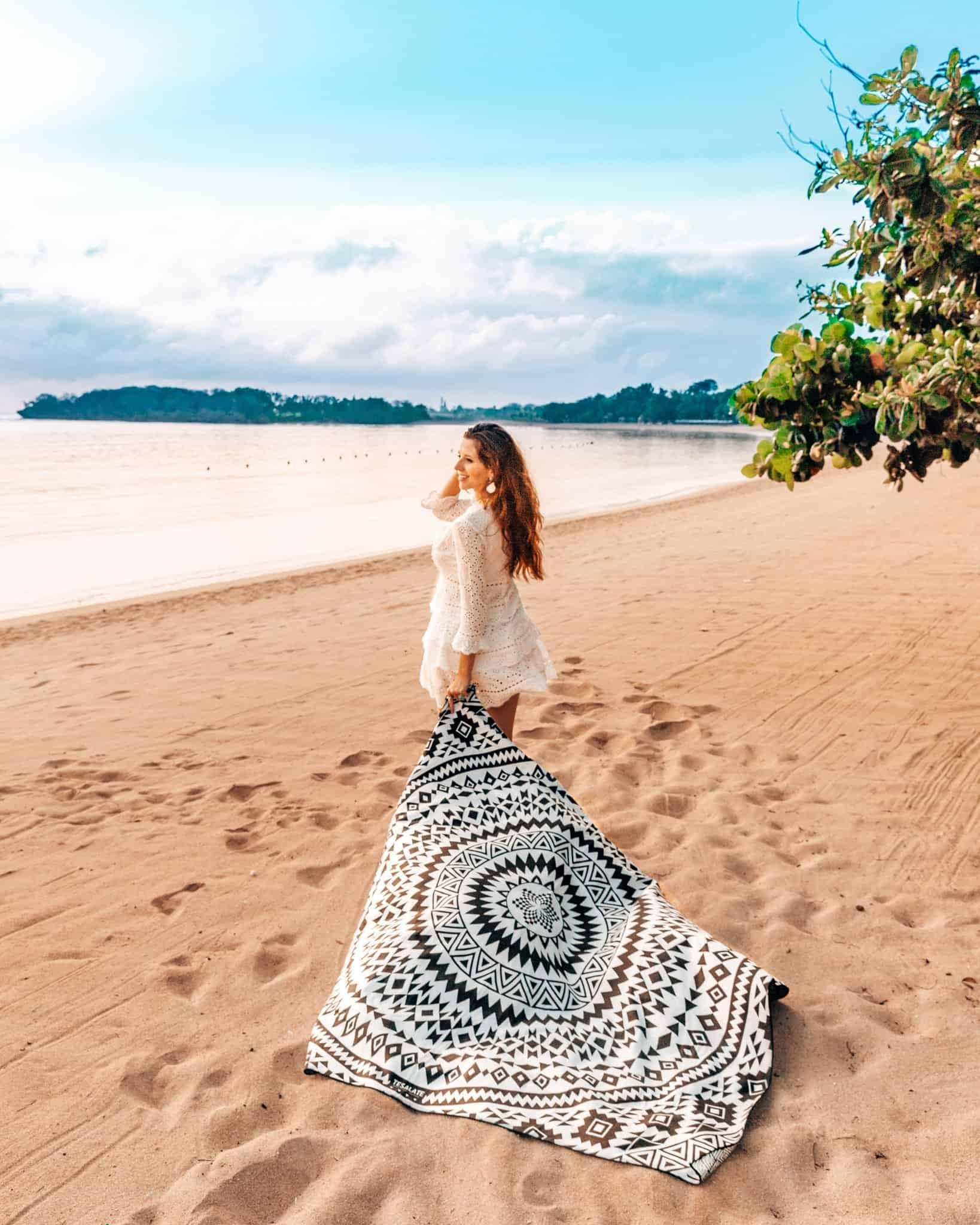 Morning Stroll at Nusa Dua Beach