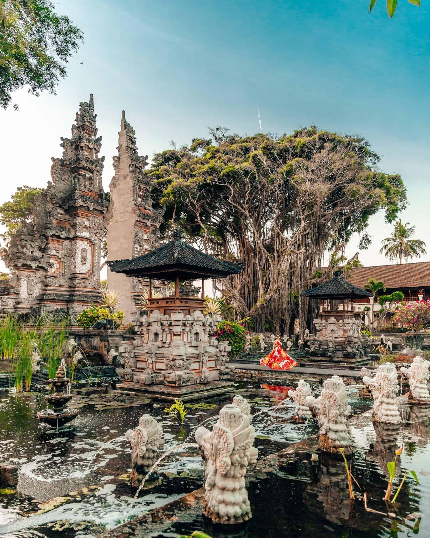 Nusa Dua Beach Resort and Spa Entrance Garden - The Next Trip