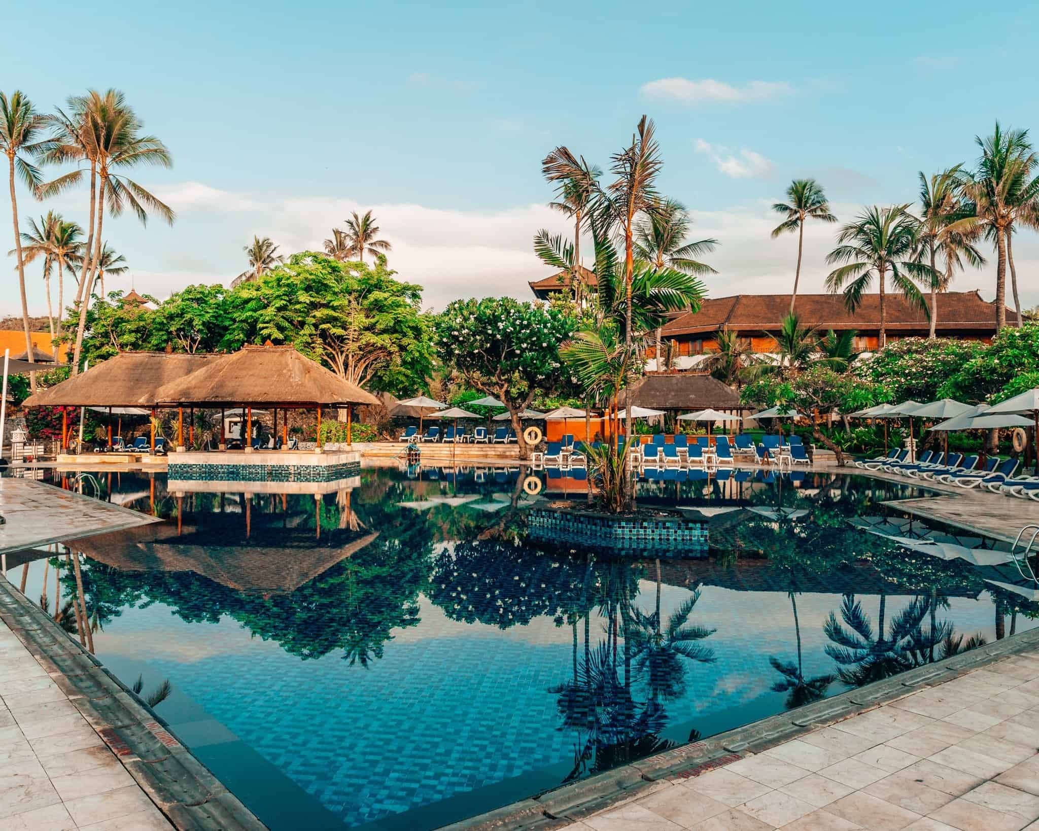Pool at Nusa Dua Beach Hotel and Spa - The Next Trip