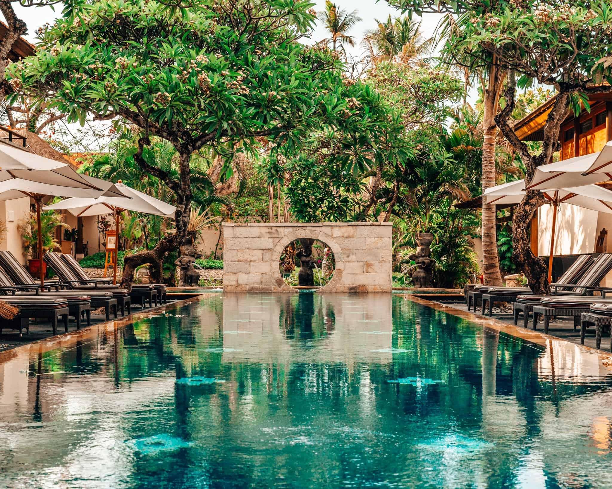 Spa Pool at Nusa Dua Beach Resort and Spa Hotel - The Next Trip