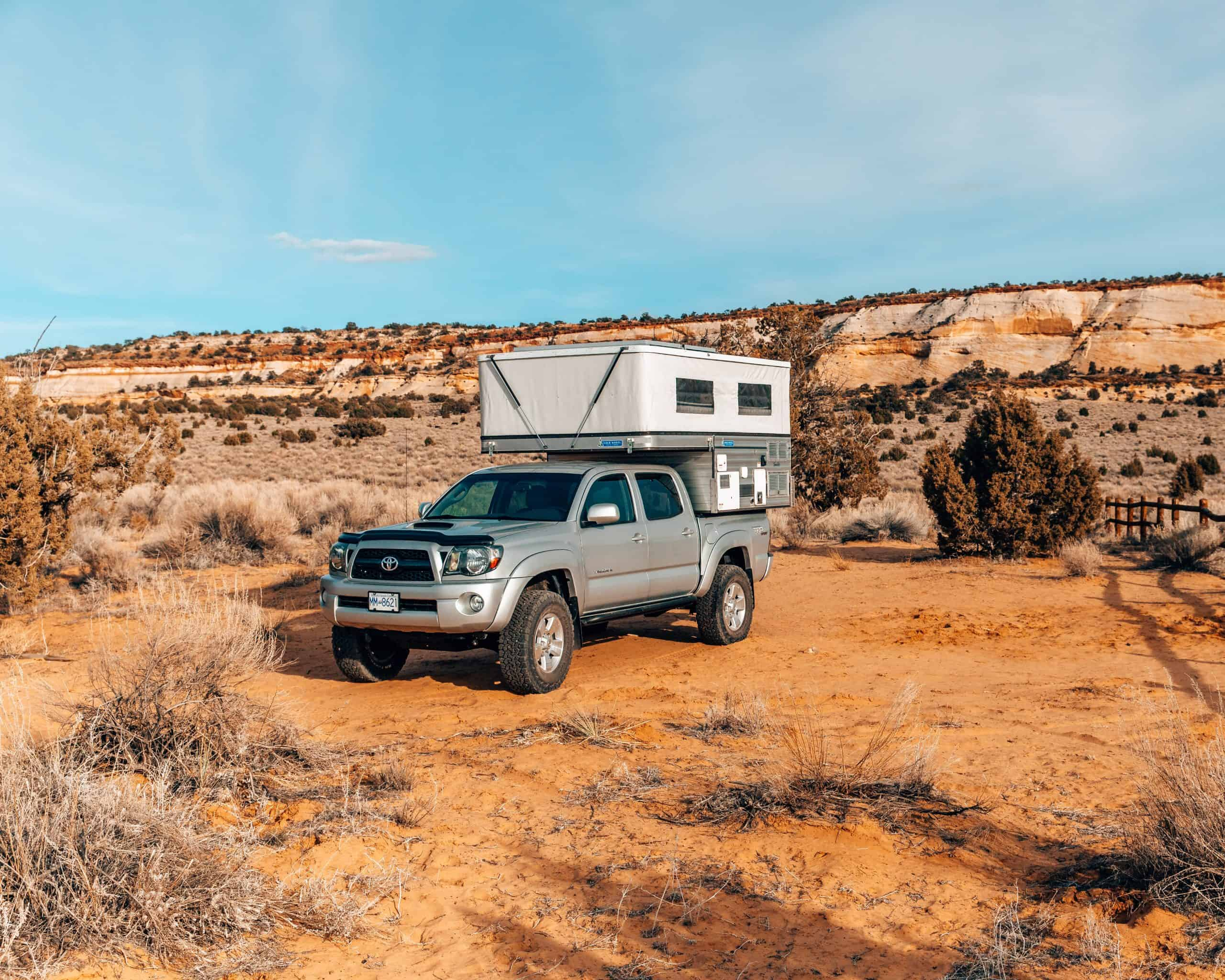 Four Wheel Camper at White Pocket, Arizona - The Next Trip
