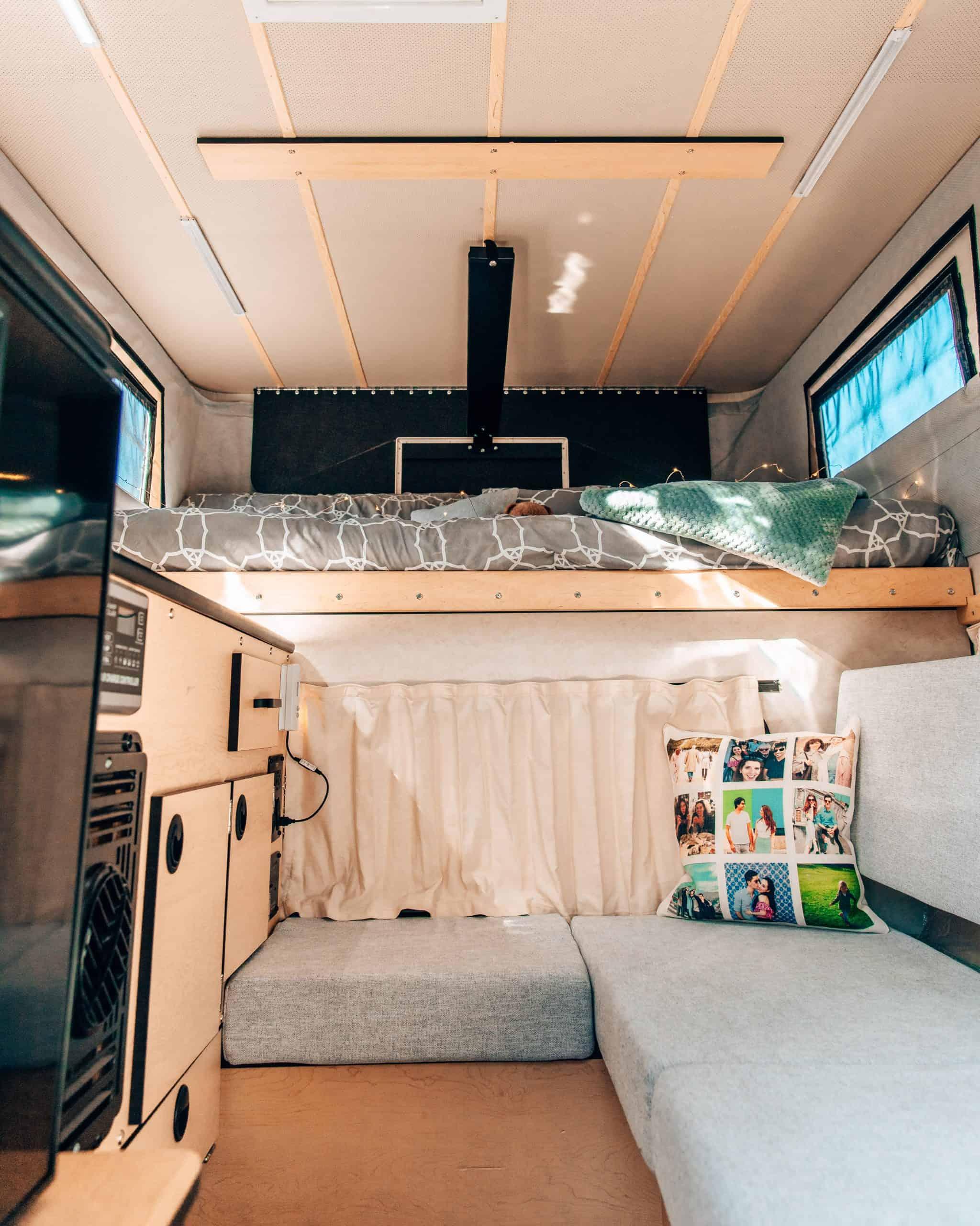 Four Wheel Camper Swift Interior Post Modifications
