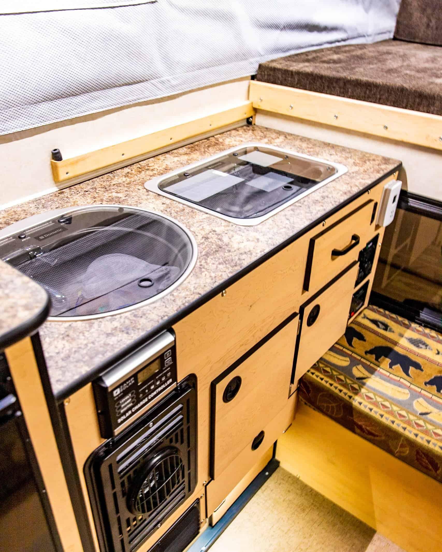Four Wheel Camper Swift Interior Pre Modifications