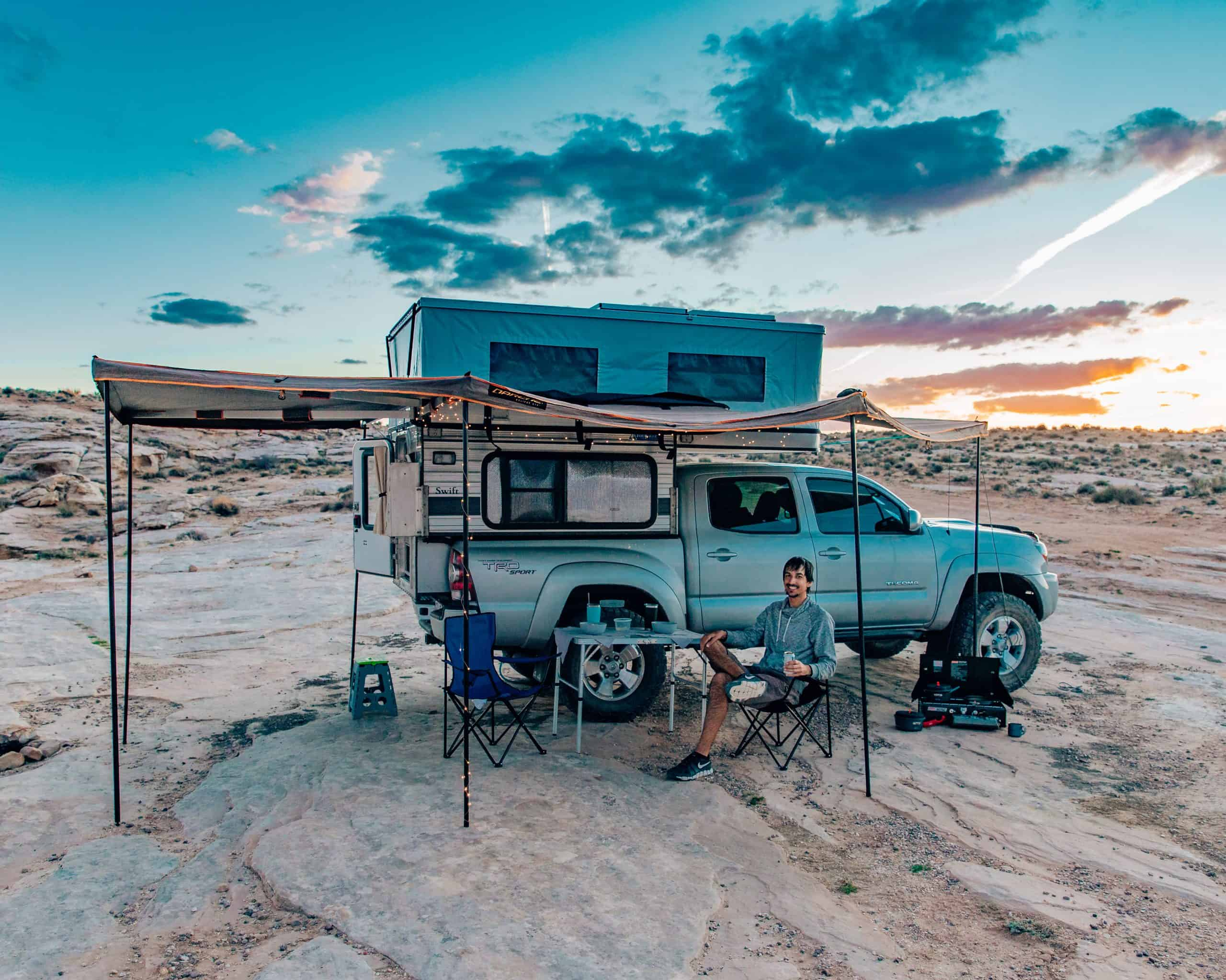 Camp at Alstrom Point, Utah - The Next Trip