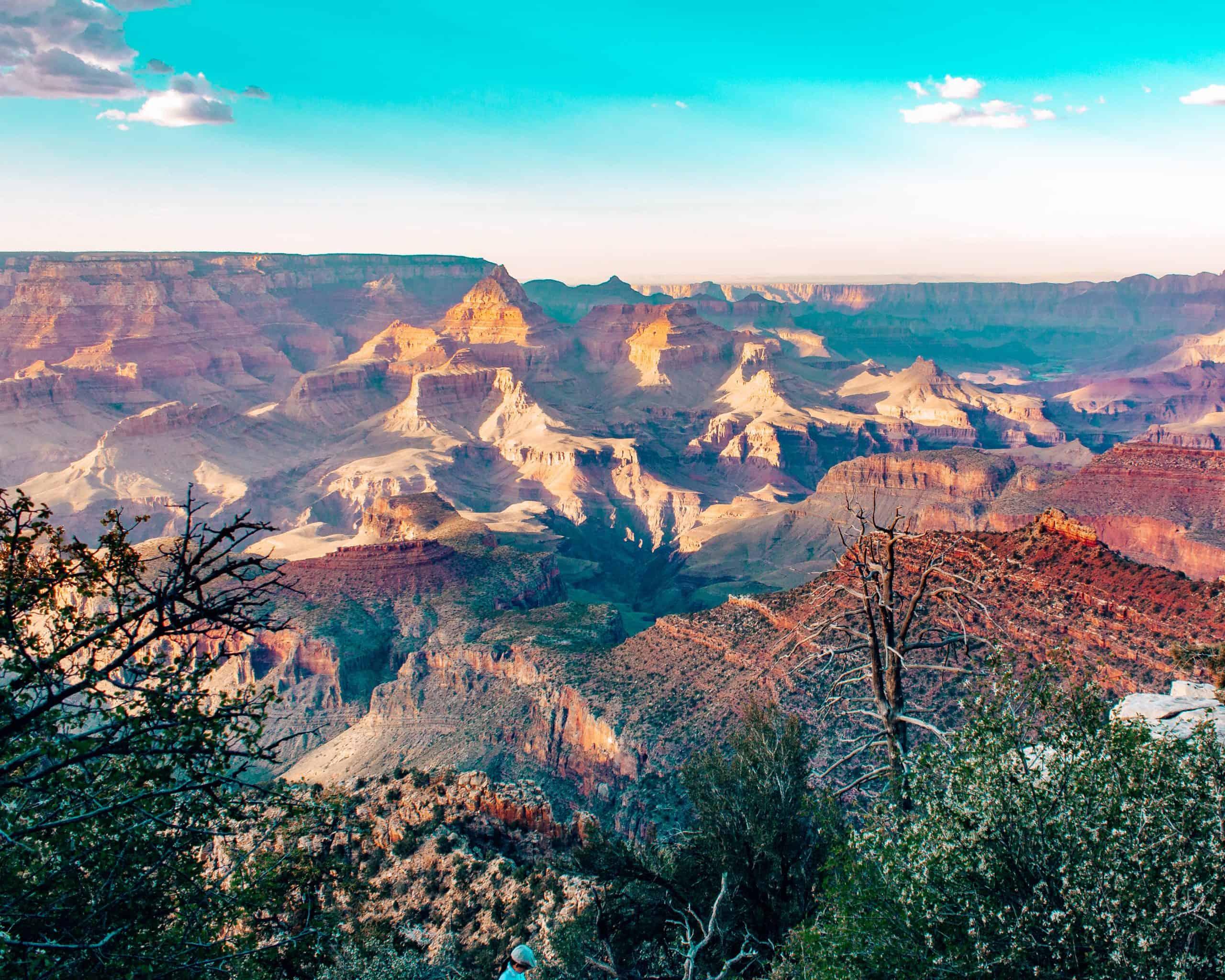 Sunset at Grand Canyon South Rim Arizona