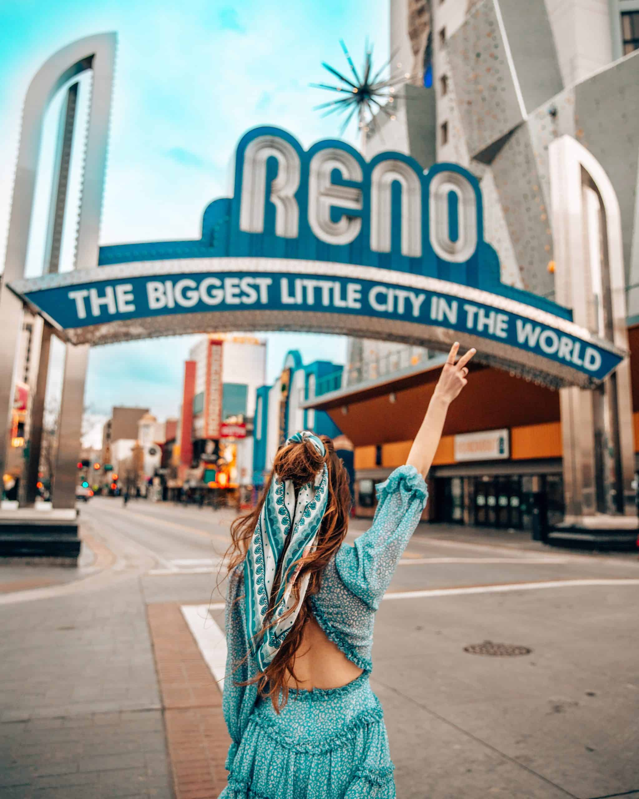 Biggest Little City in the World Sign in Reno - The Next Trip