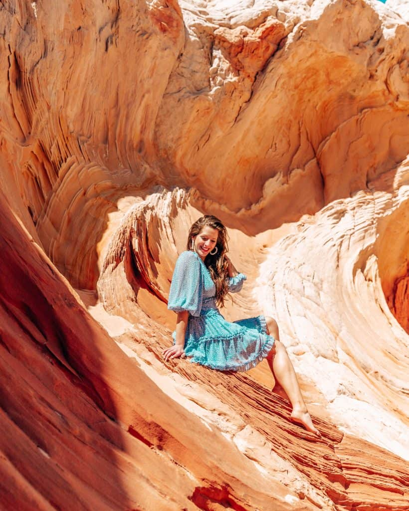 Orange Rock Formations Utah