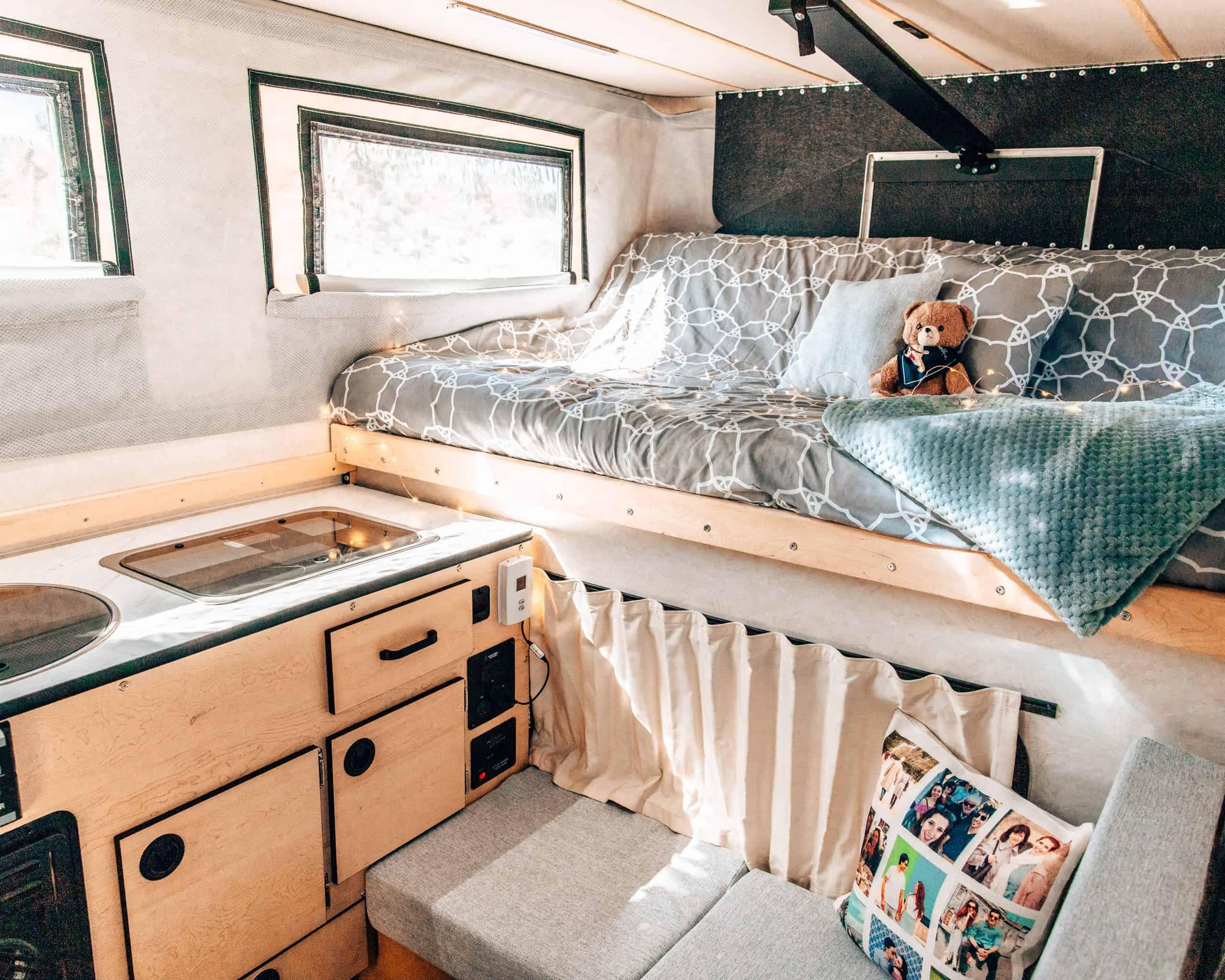 Living in a Camper - Four Wheel Camper Swift Interior