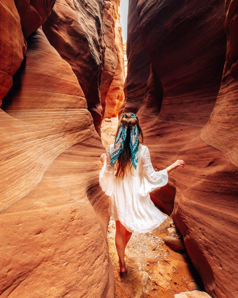 Wire Pass Slot Canyon in Utah