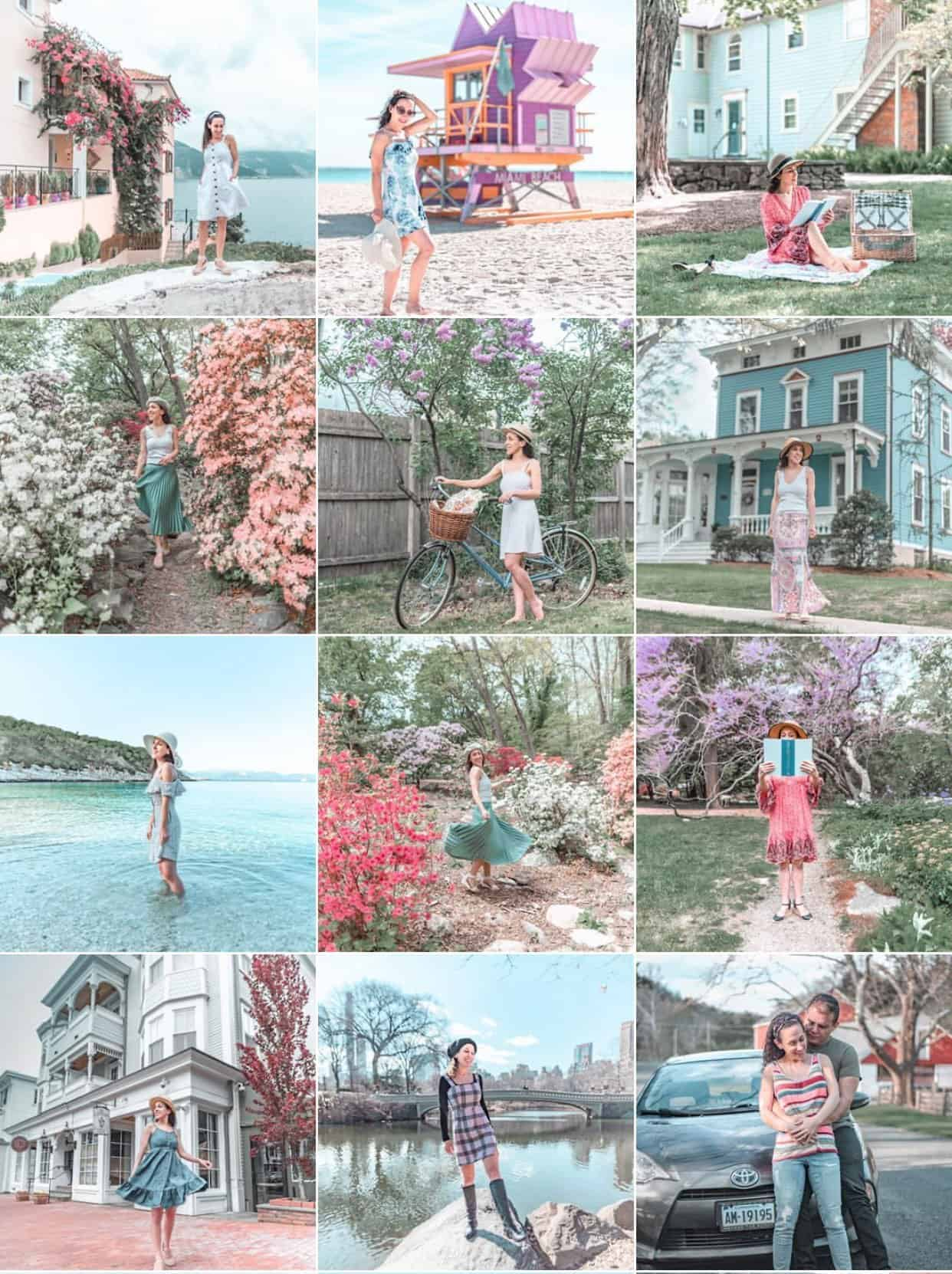 The Carry On Chronicles Pastel Instagram Feed