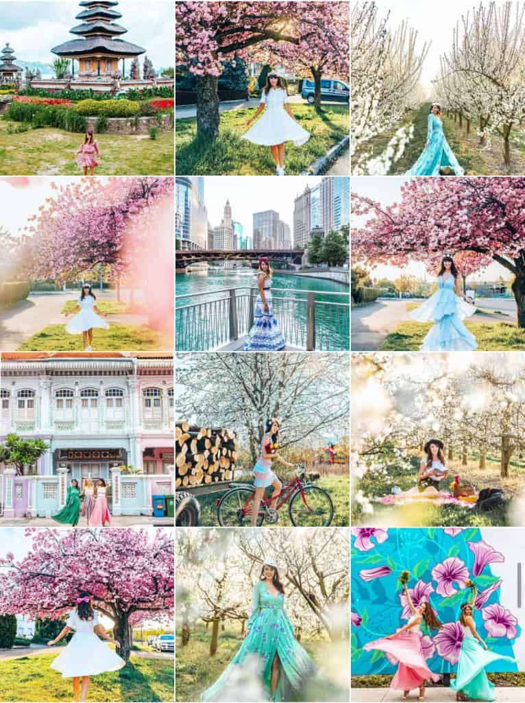 Travel With Talia Instagram Feed