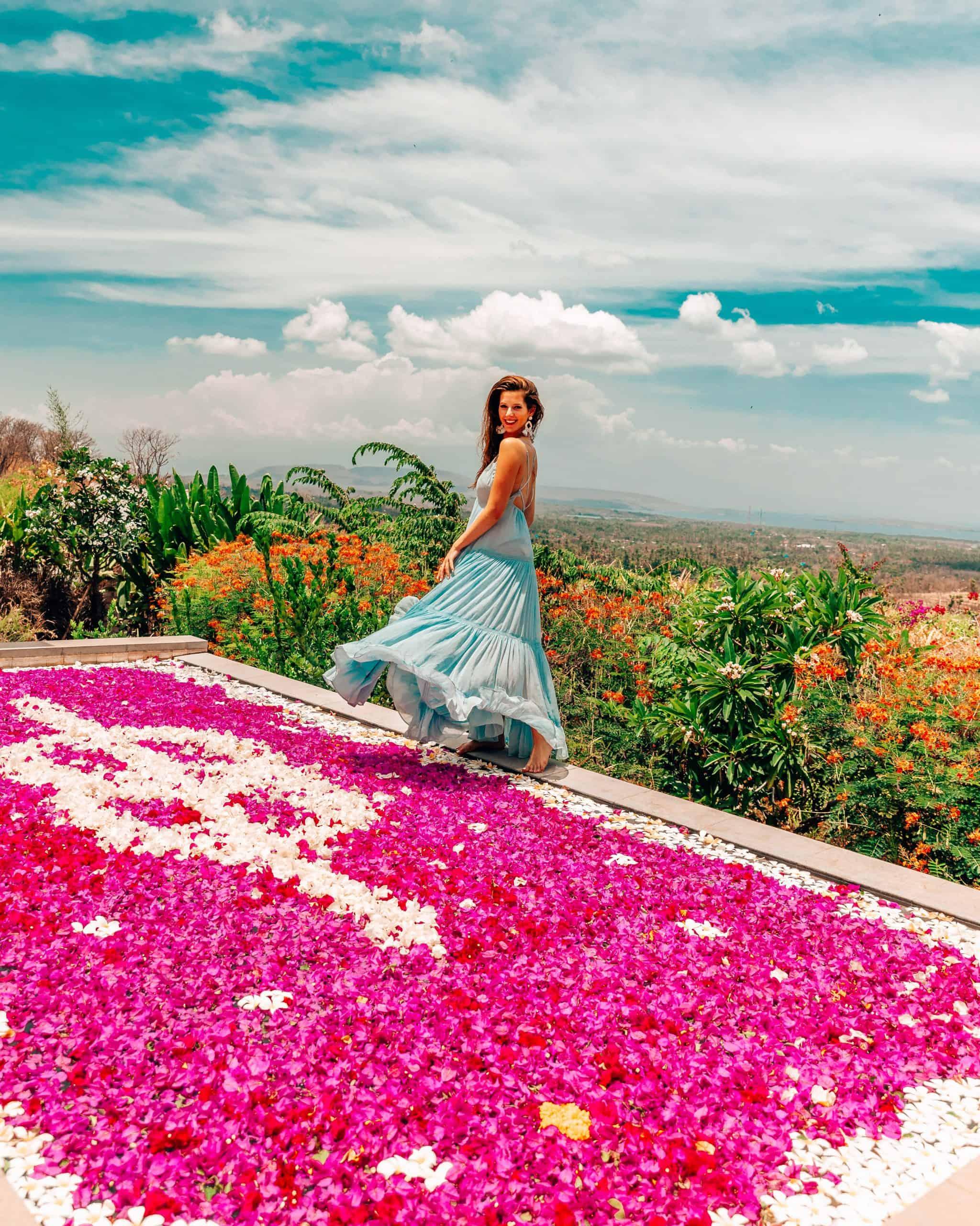 Flower Pool at Sumberkima Bali