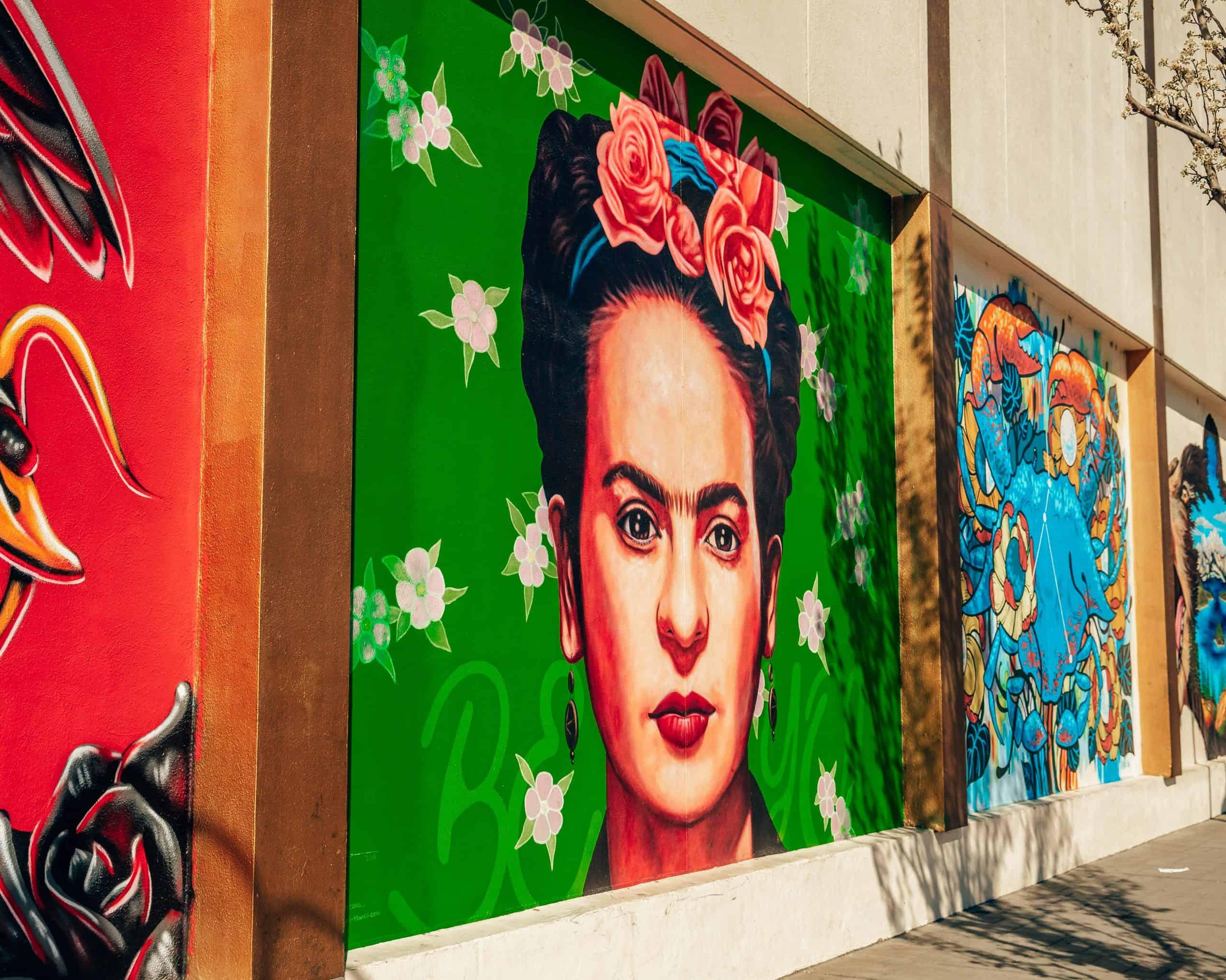 Frida Kahlo Mural Reno