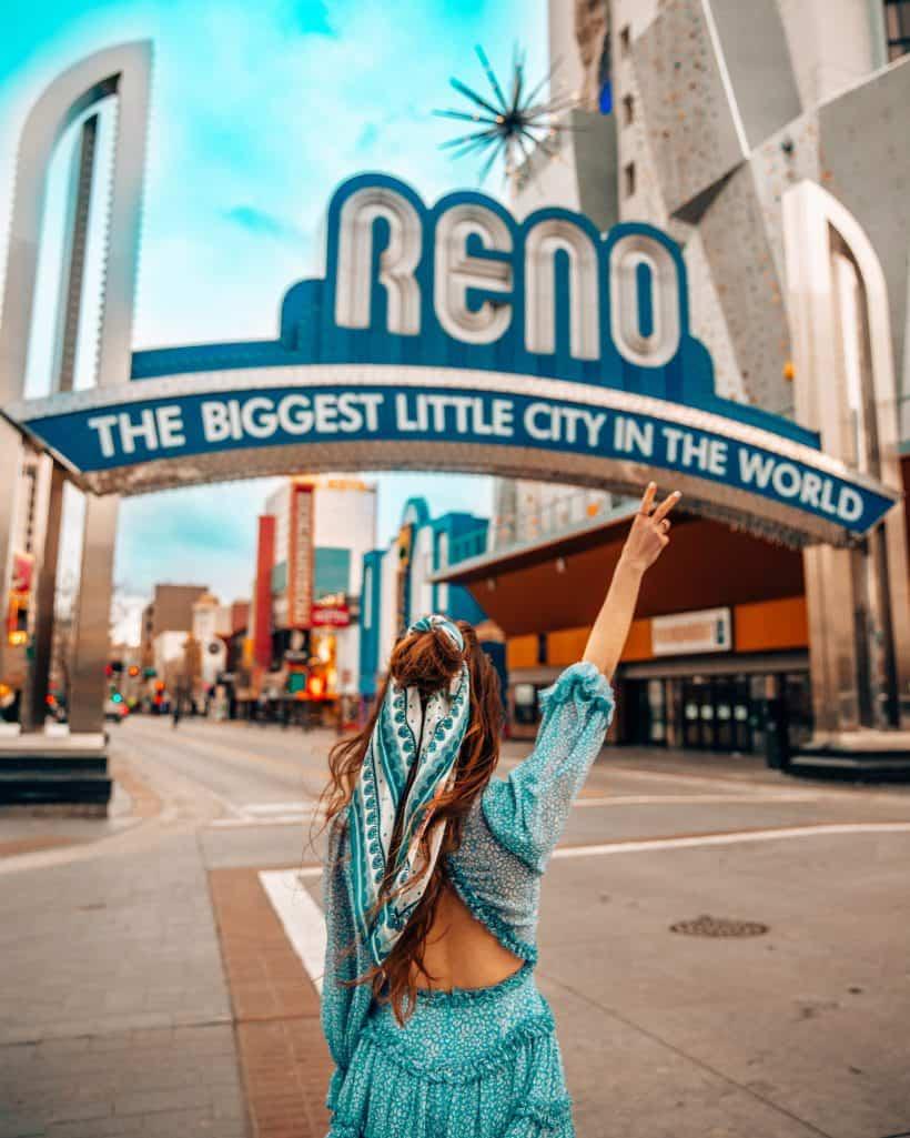 Bettina at Reno Sign in Reno Nevada
