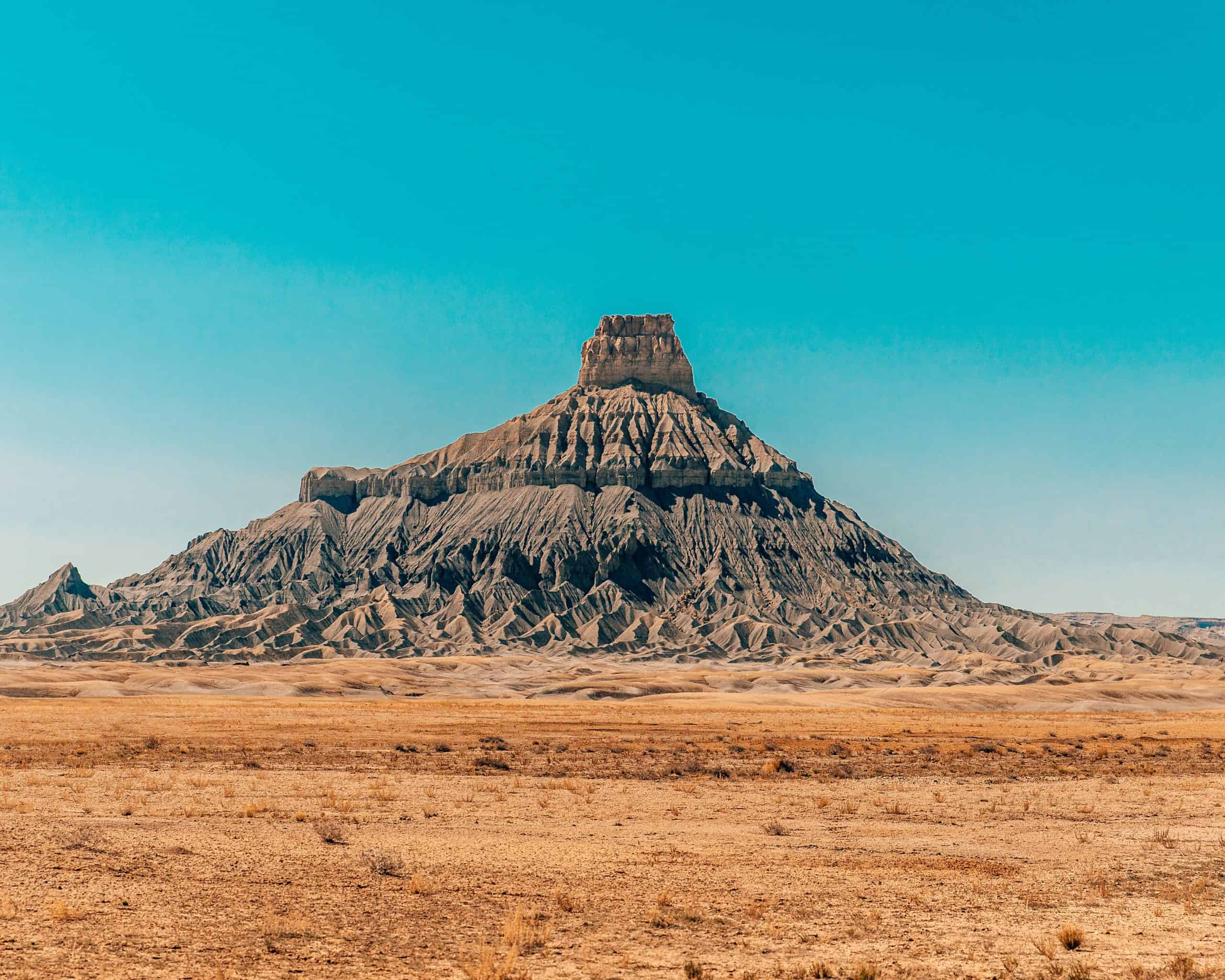 Factory Butte at Utah Badlands