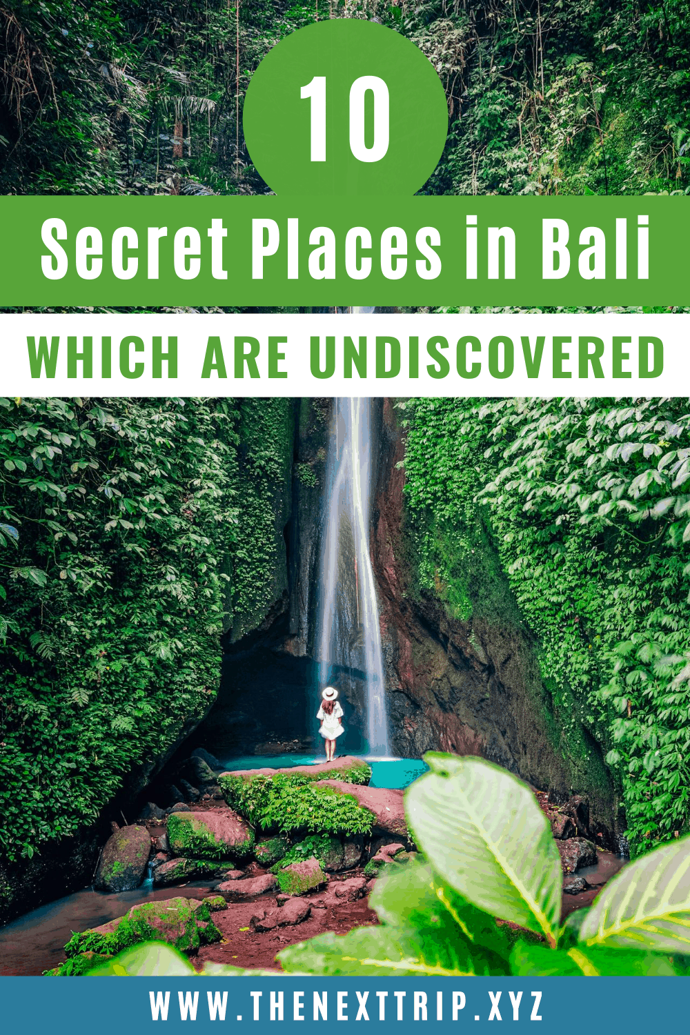 The 10 best hidden gems in Bali and undiscovered places away from tourism! Here are 10 Bali hidden gems revealed which are still undiscovered. Discover the best secret places in Bali from remote waterfalls, secret temples, and lakes. | Bali travel guide | Bali hidden gems | Bali hidden places | Bali secret places | Bali hidden beach | Bali hidden waterfall | Bali travel tips | Bali guide