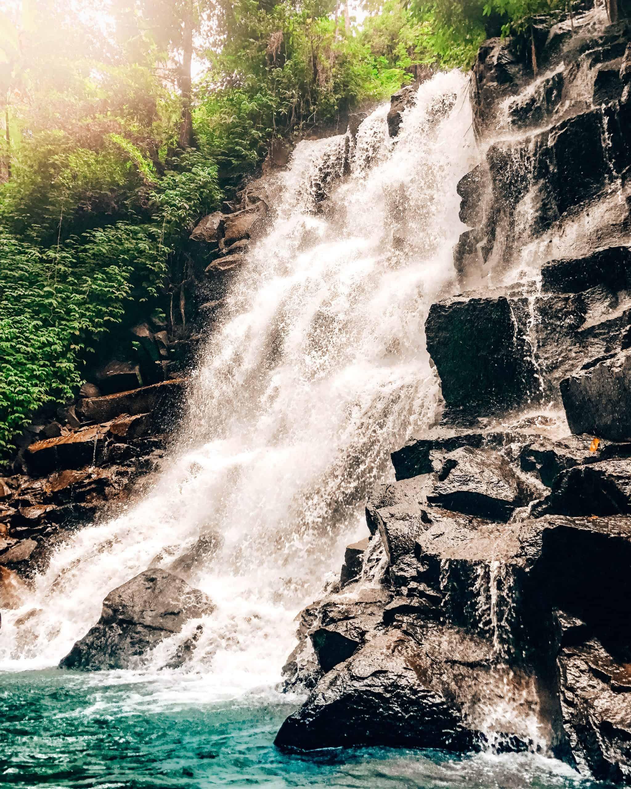 Kanto Lampo Waterfall Bali - 10 Bali Hidden Gems