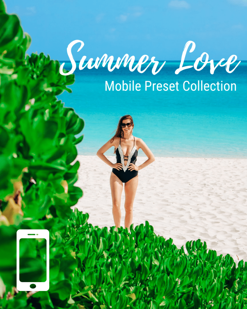Mobile Lightroom Presets - Summer Love