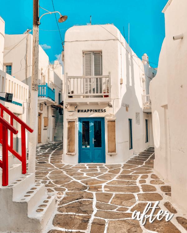 Santorini Mykonos Mobile Preset Collection 2