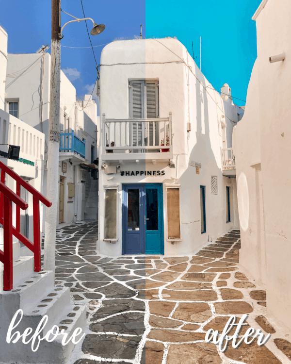 Santorini Mykonos Mobile Preset Collection 1