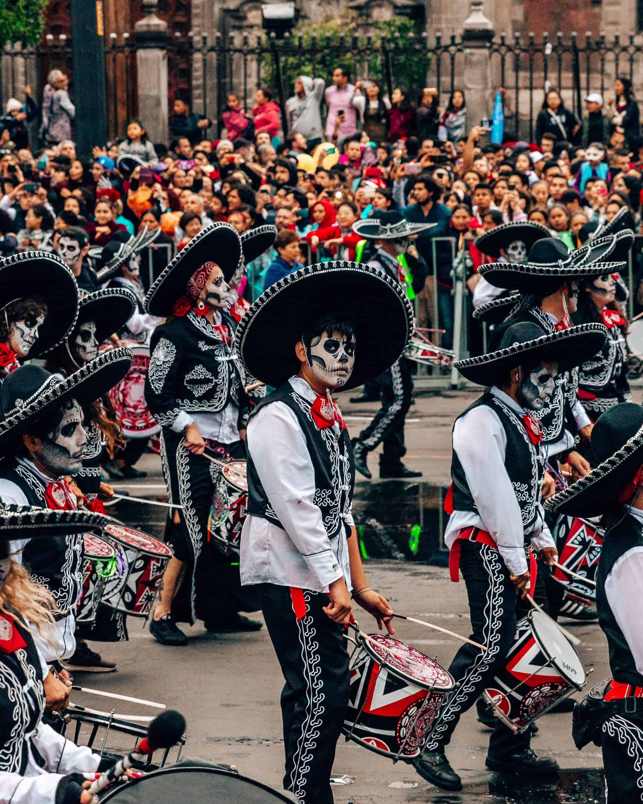 Day of the Dead Parade Mexico City