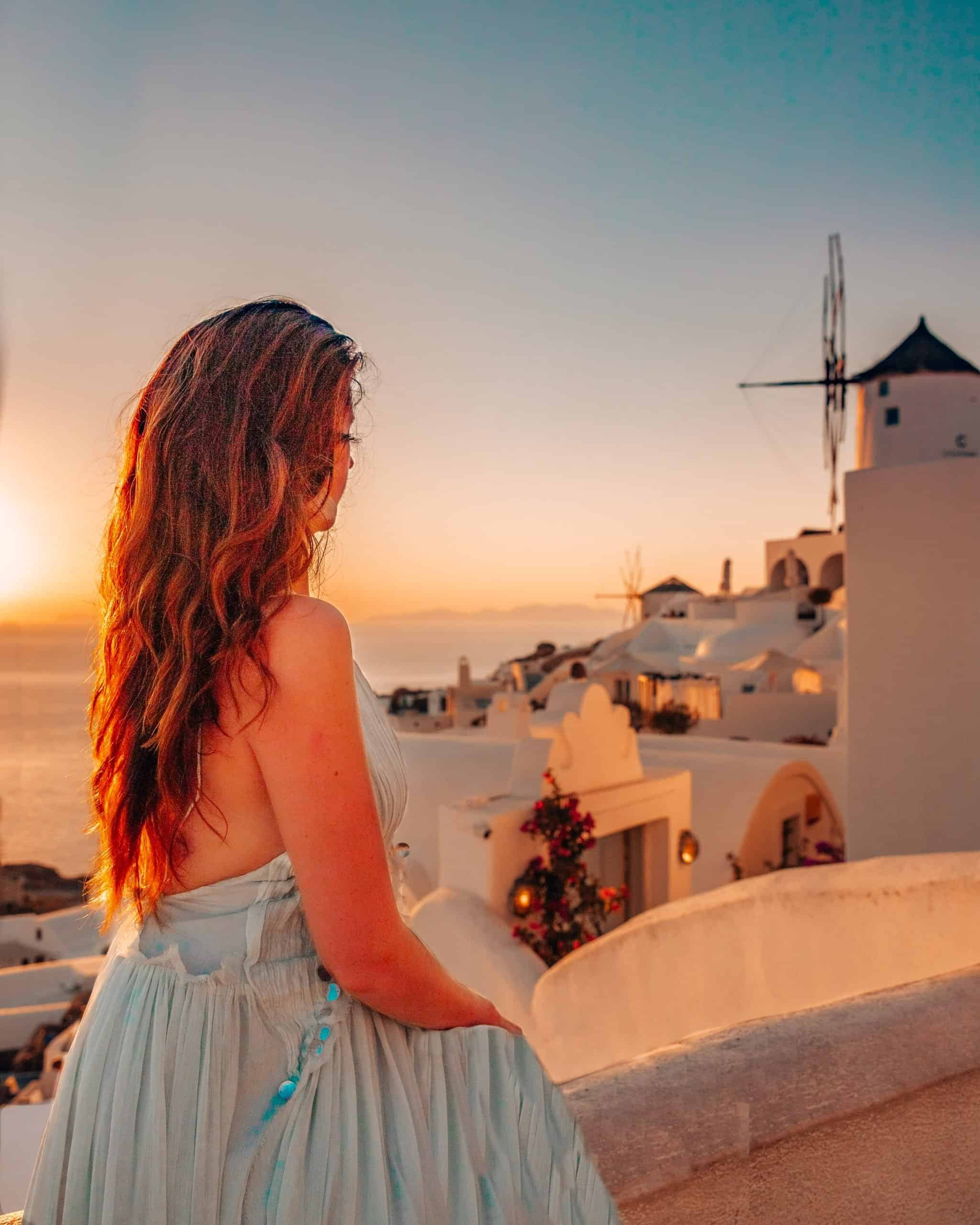 Most Instagrammable Places in Santorini you Can't Miss! From blue dome churches, sunset in Oia, typical Santorini-style houses, to the pink church, this post reveals the top 15 Instagram Spots in Santorini and includes tips on how to get there, how to avoid crowds, and the best time to take photos. | Santorini Instagram | Santorini Travel Guide | Best Locations and Photo Tips | Oia Instagram Spots | Imerovigli Instagram Spots | Oia Sunset | Santorini Greece Photography | Santorini house