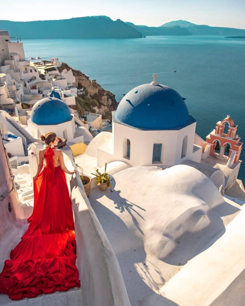 Santorini Dress 10