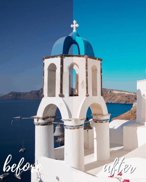 Santorini Mykonos Mobile Preset Collection 7