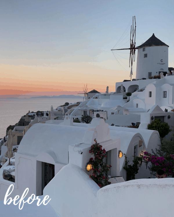 Santorini Mykonos Mobile Preset Collection 5