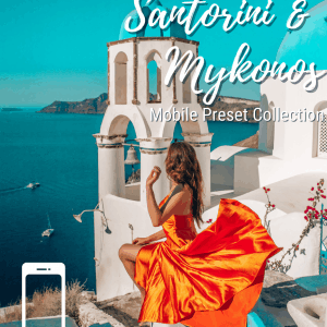 Santorini Mykonos Mobile Preset Collection