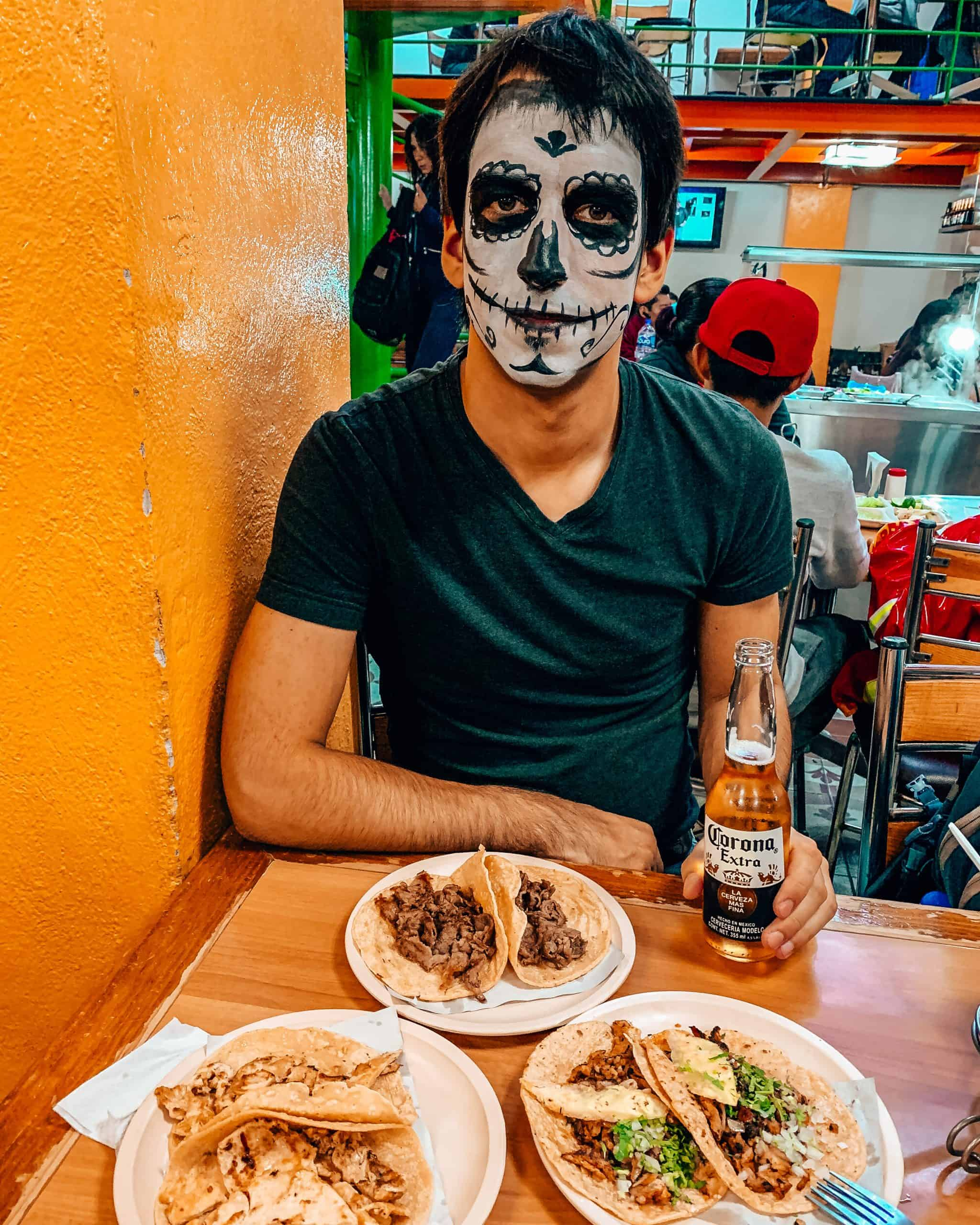 Kyle at El Rincón Tapatío Bar Mexico City