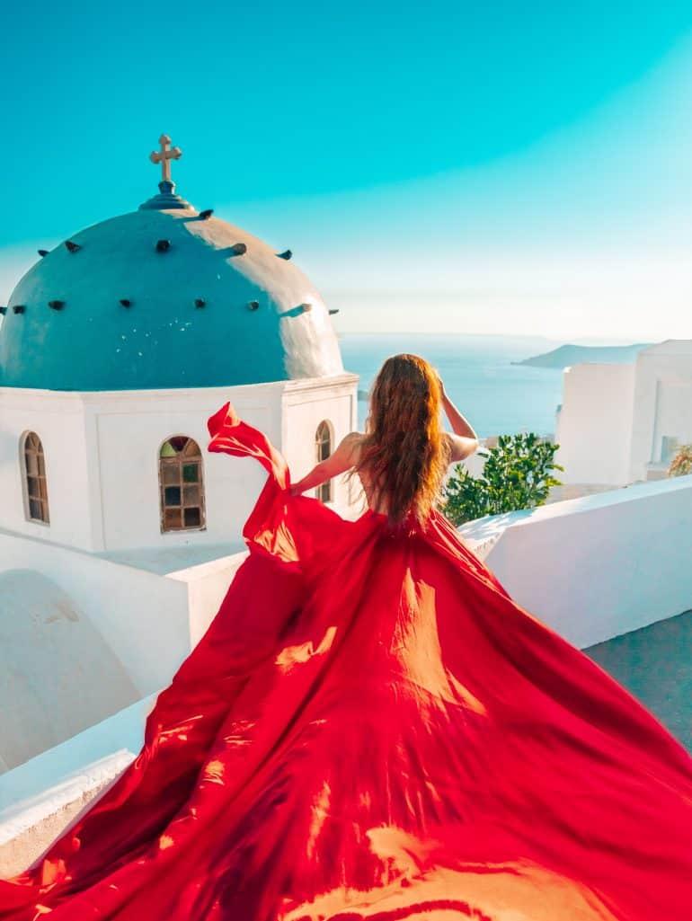 Santorini Dress 13