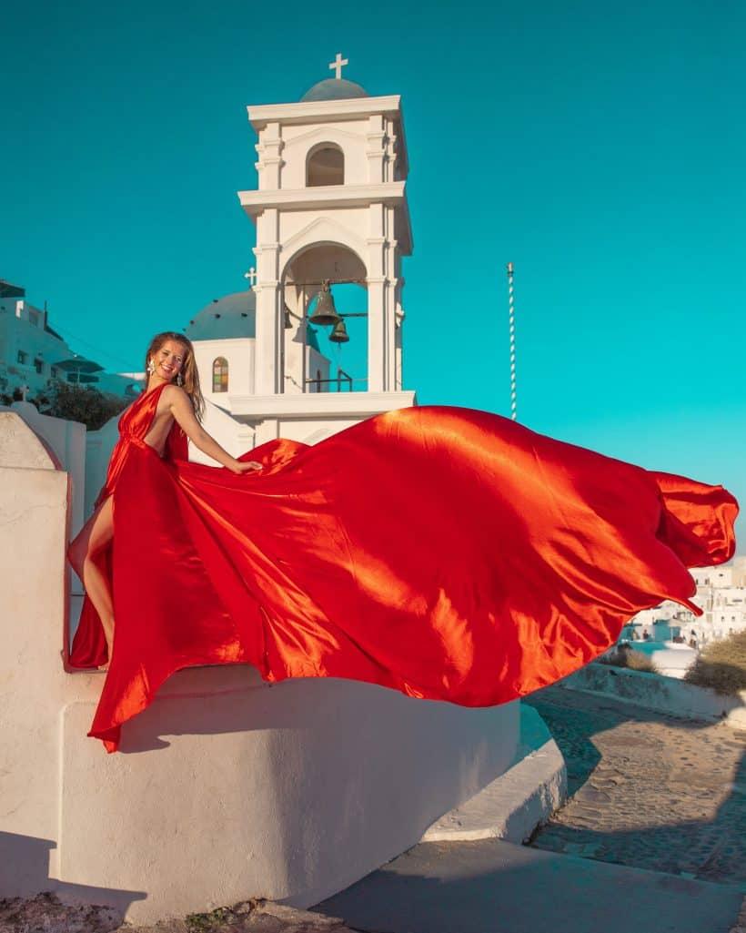 Santorini Dress 12