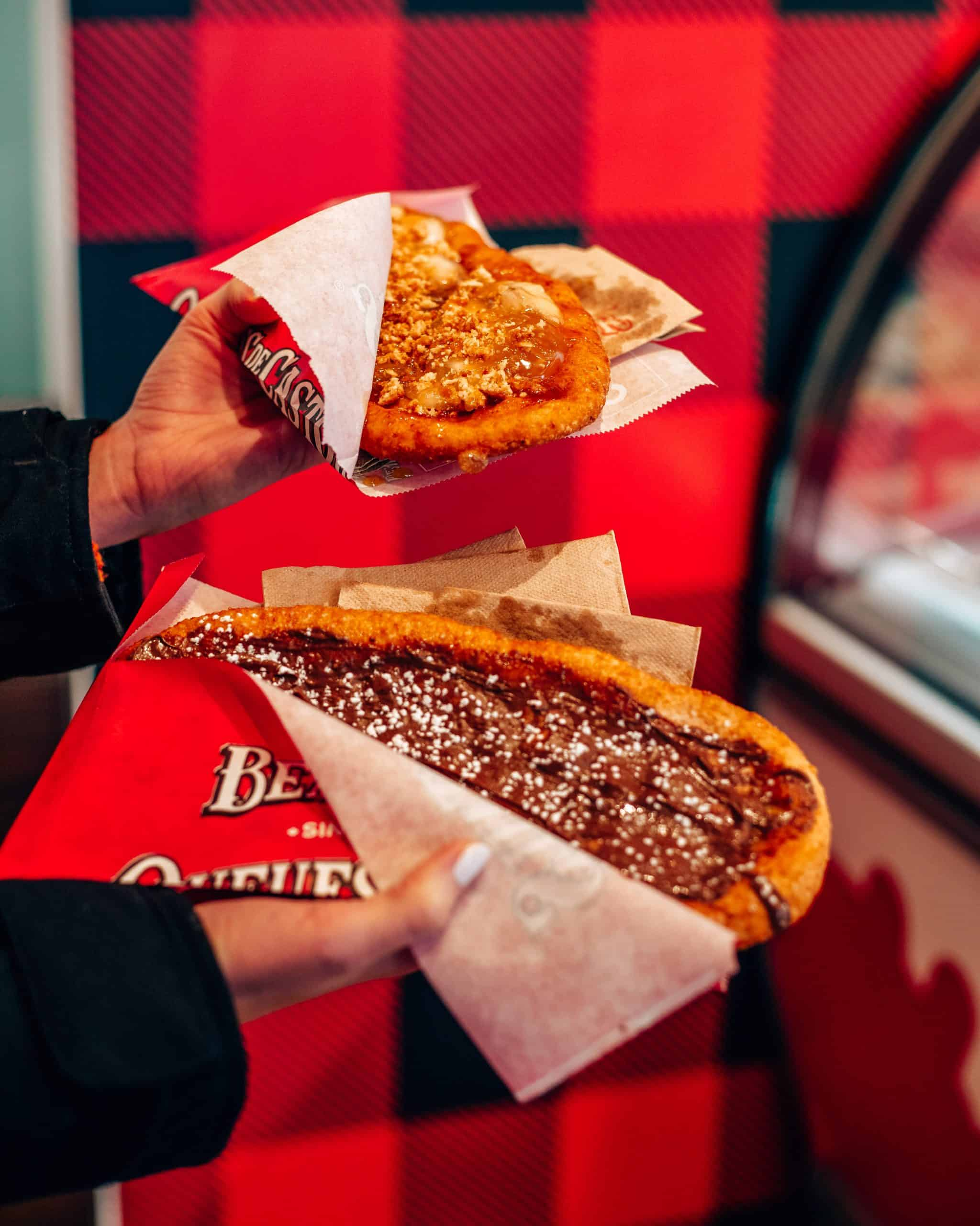 Beavertails in Banff Canada